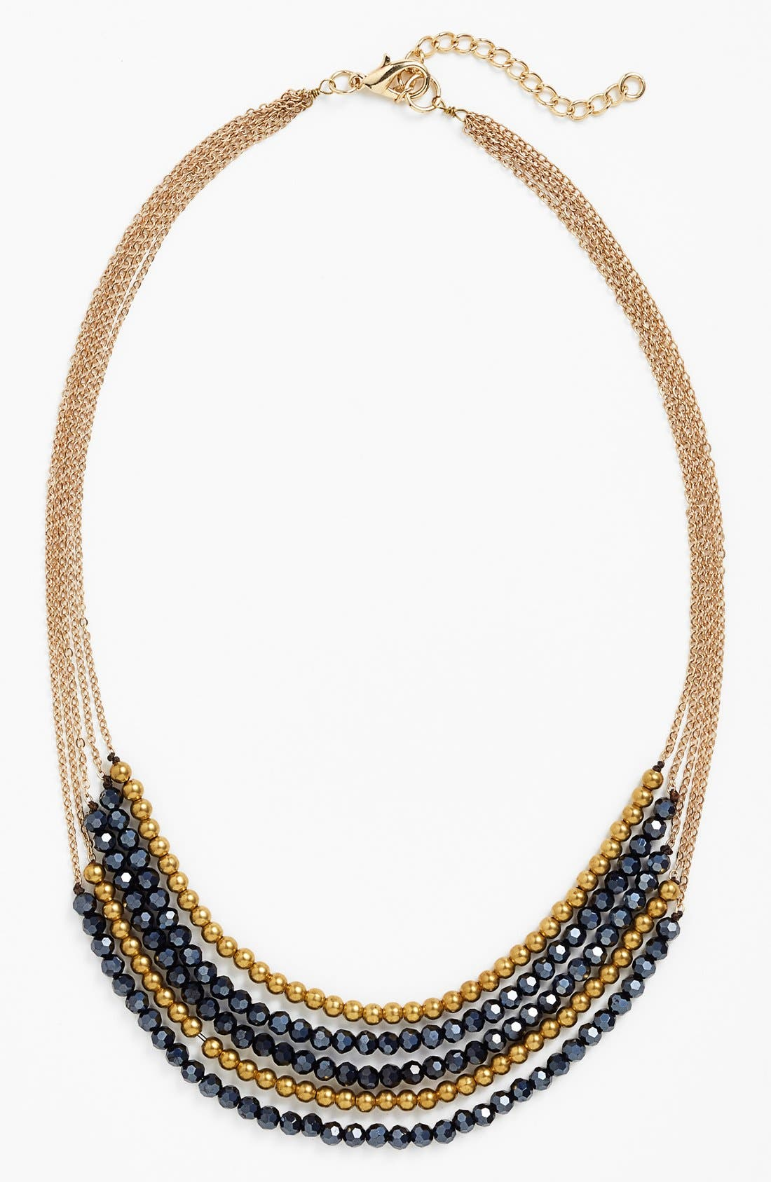 Alternate Image 3  - Panacea Boxed Crystal Multistrand Necklace