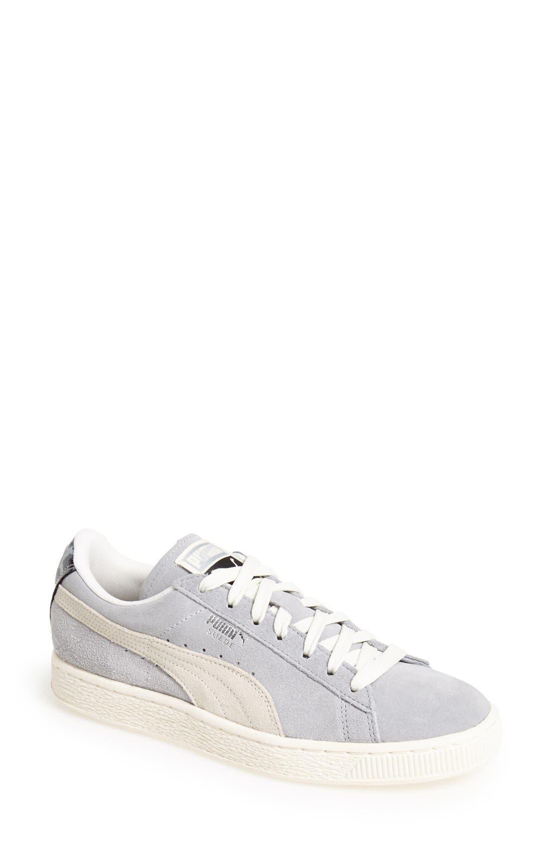 Alternate Image 1 Selected - PUMA 'Classic' Suede Sneaker (Women)