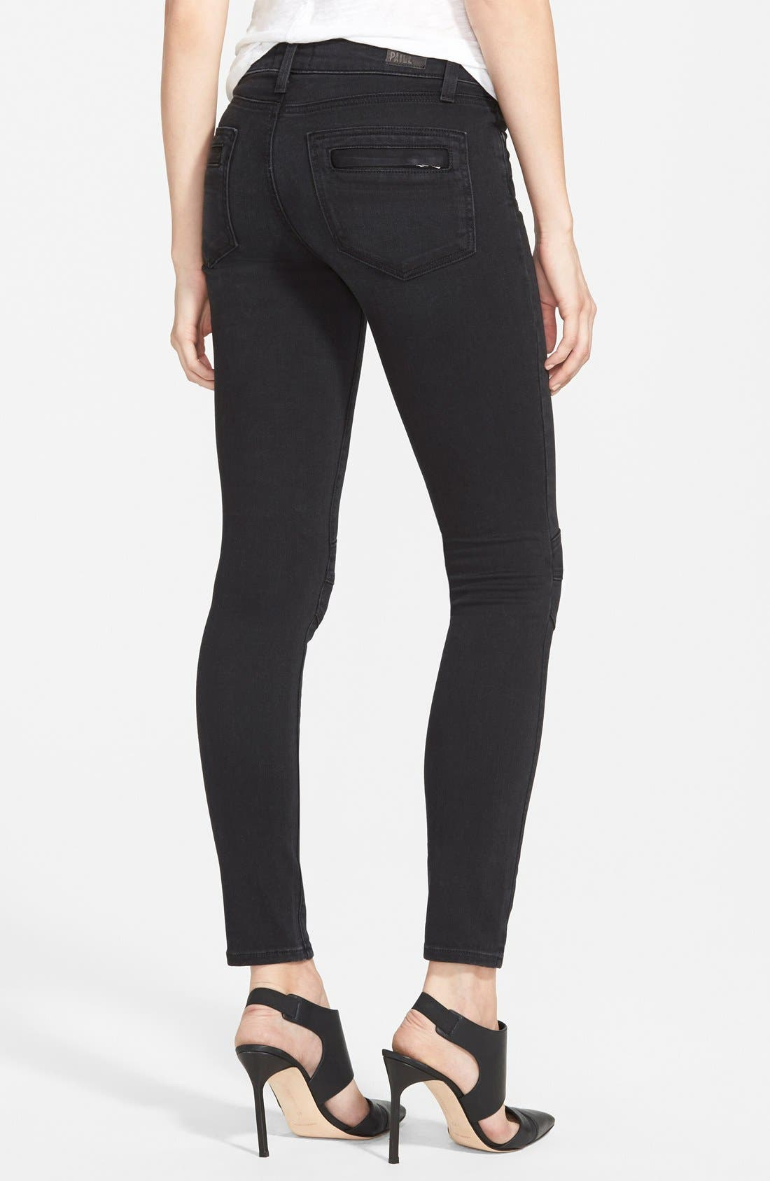 Alternate Image 2  - Paige Denim 'Ollie' Ultra Skinny Jeans (Cleo No Whiskers)