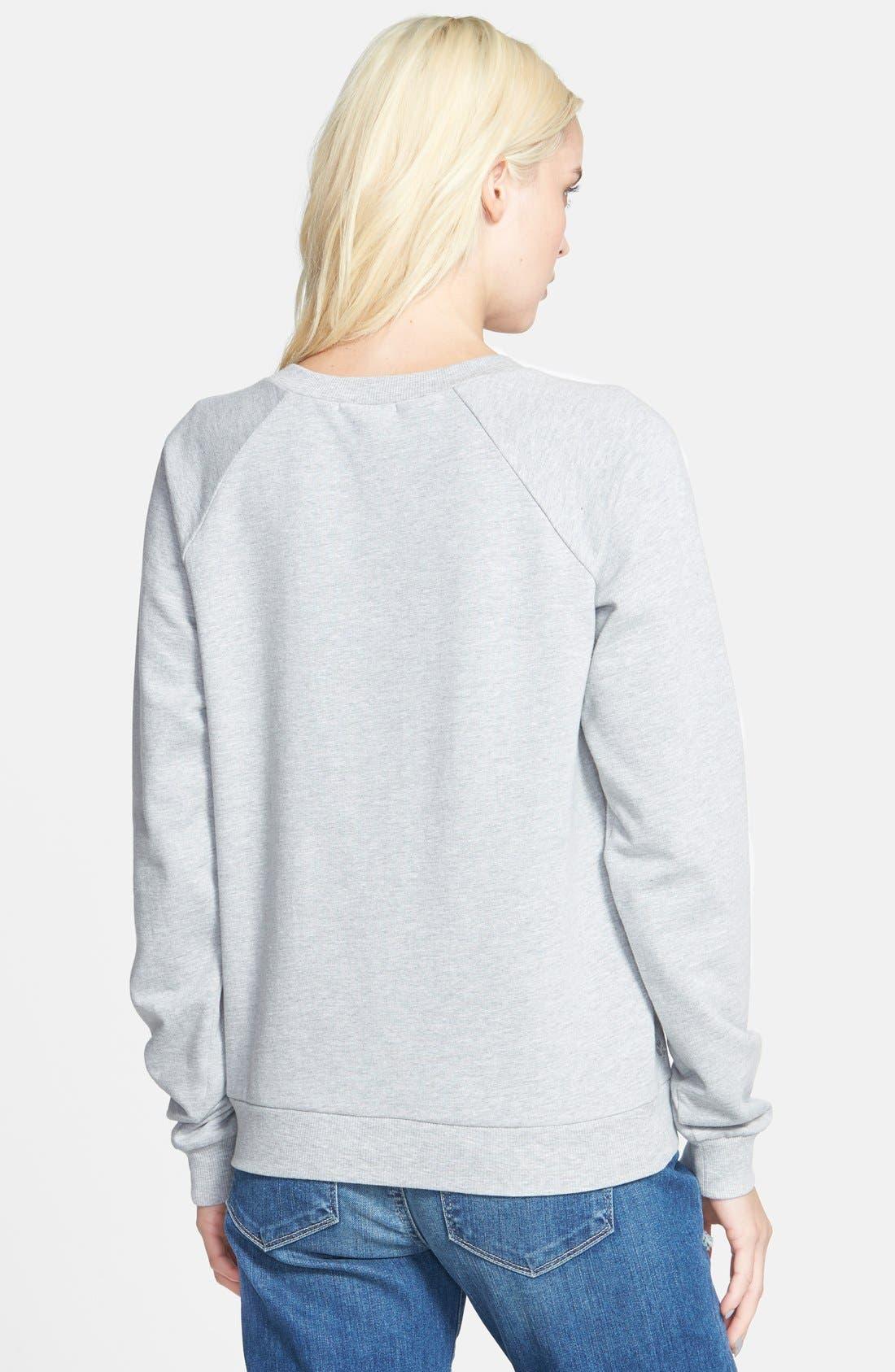 Alternate Image 2  - Paige Denim 'Pauline' Embellished Sweatshirt