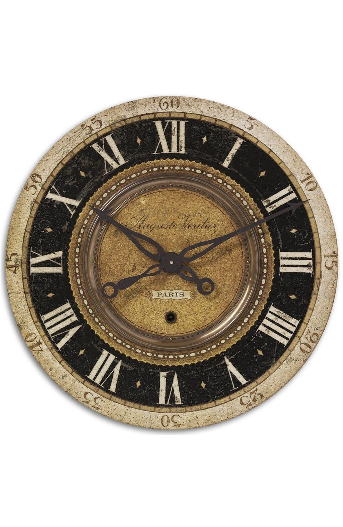 Uttermost 'Auguste Verdier' Wall Clock