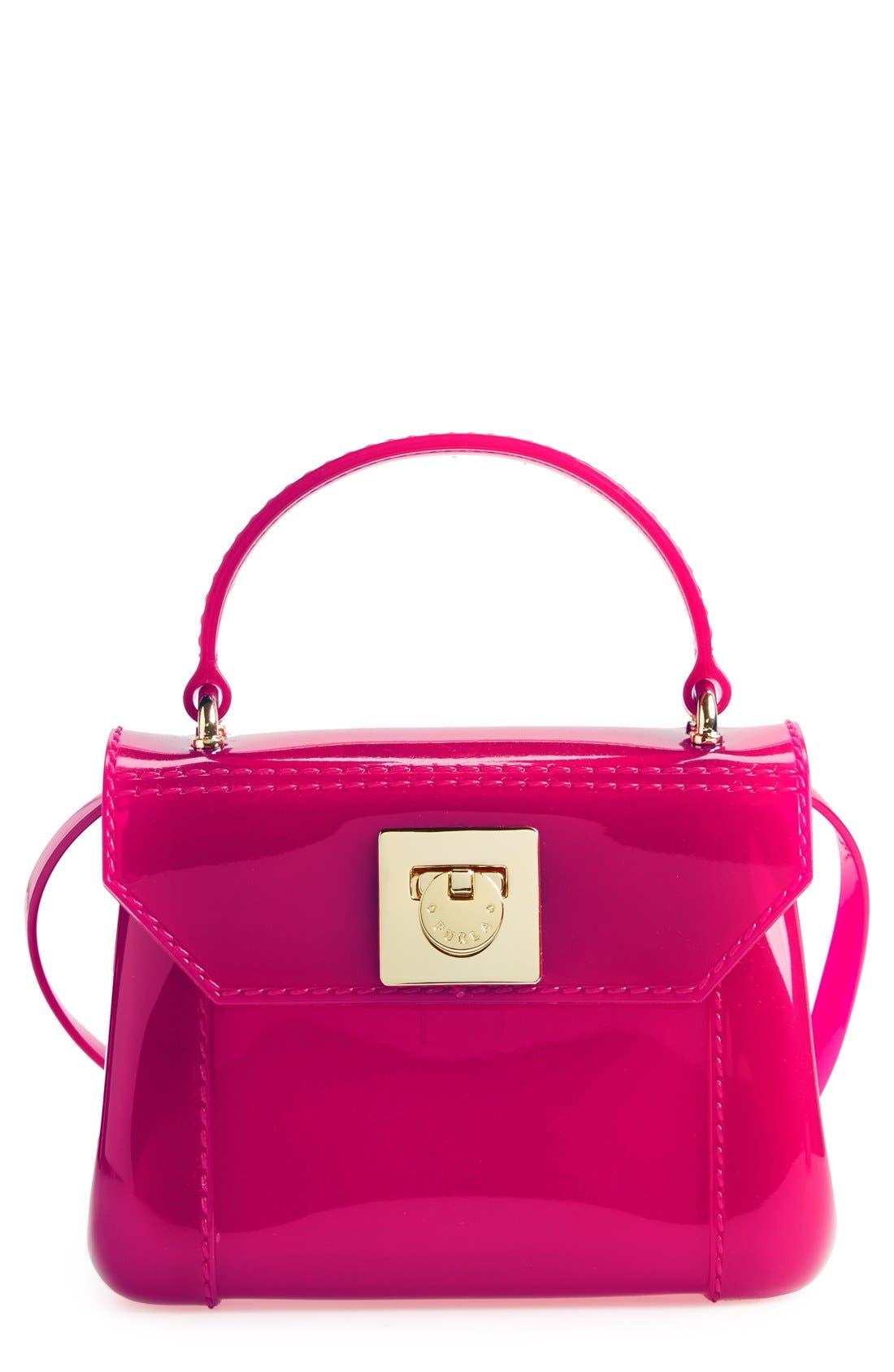Alternate Image 1 Selected - Furla 'Candy - Mini' Top Handle Crossbody Bag