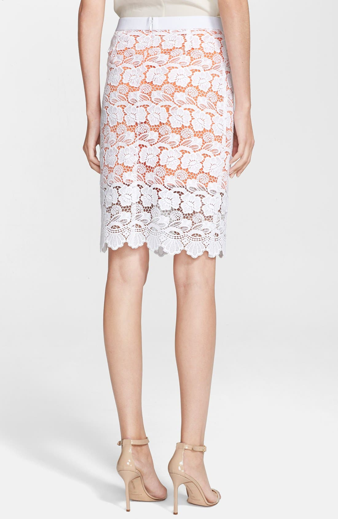 Alternate Image 2  - Rebecca Minkoff 'Angelica' Lace Pencil Skirt