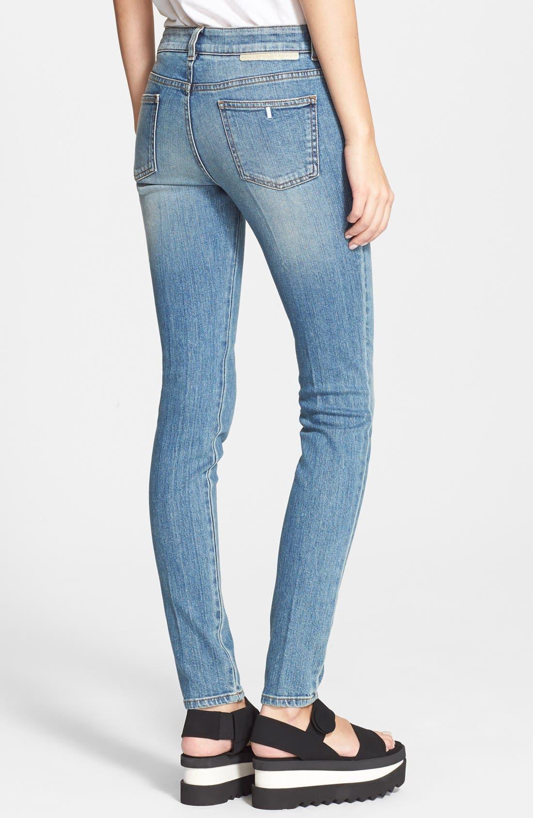 Alternate Image 2  - Stella McCartney 'The Skinny Long' Jeans
