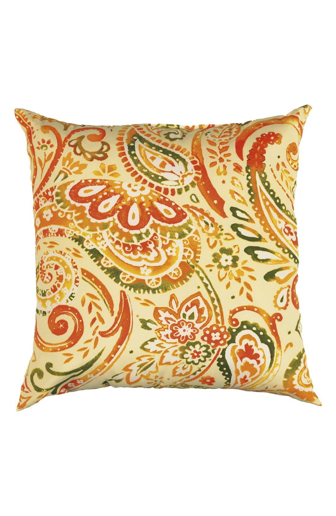 Alternate Image 1 Selected - Rizzy Home Paisley Outdoor Pillow
