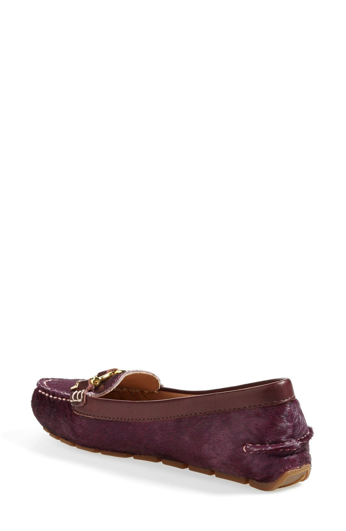 Alternate Image 2  - Sperry Top-Sider® 'Jenna' Metallic Leather Loafer (Online Only) (Women)