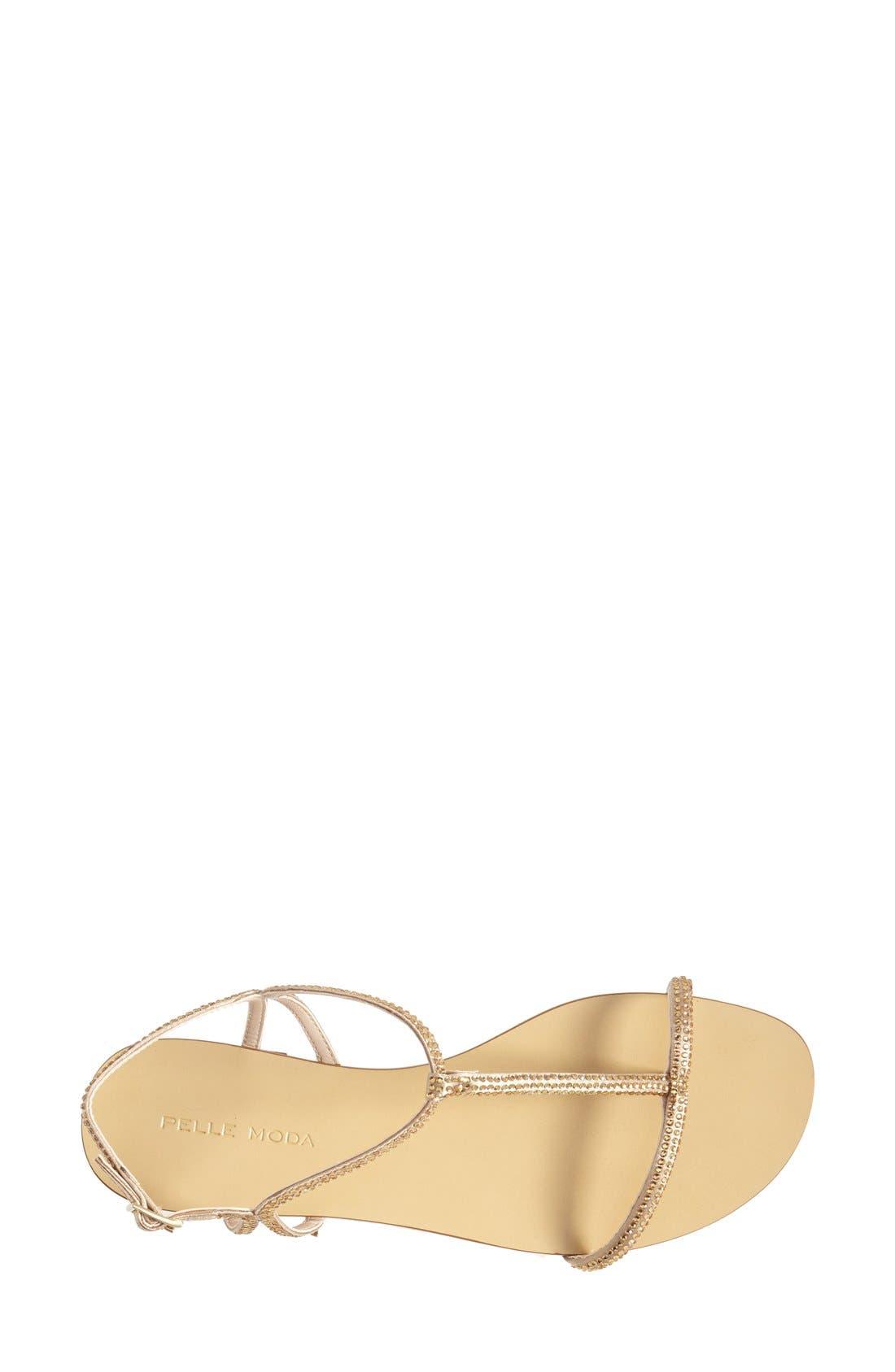 Alternate Image 3  - Pelle Moda 'Becca' T Strap Thong Sandal (Women)
