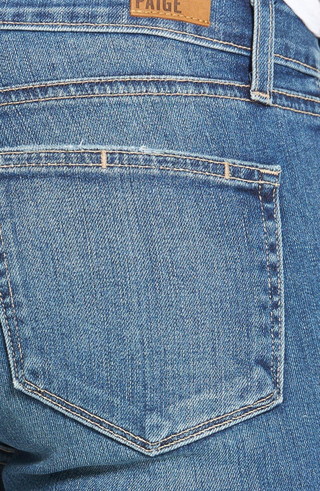 Alternate Image 3  - Paige Denim 'Verdugo' Ultra Skinny Jeans (Miles Blue)