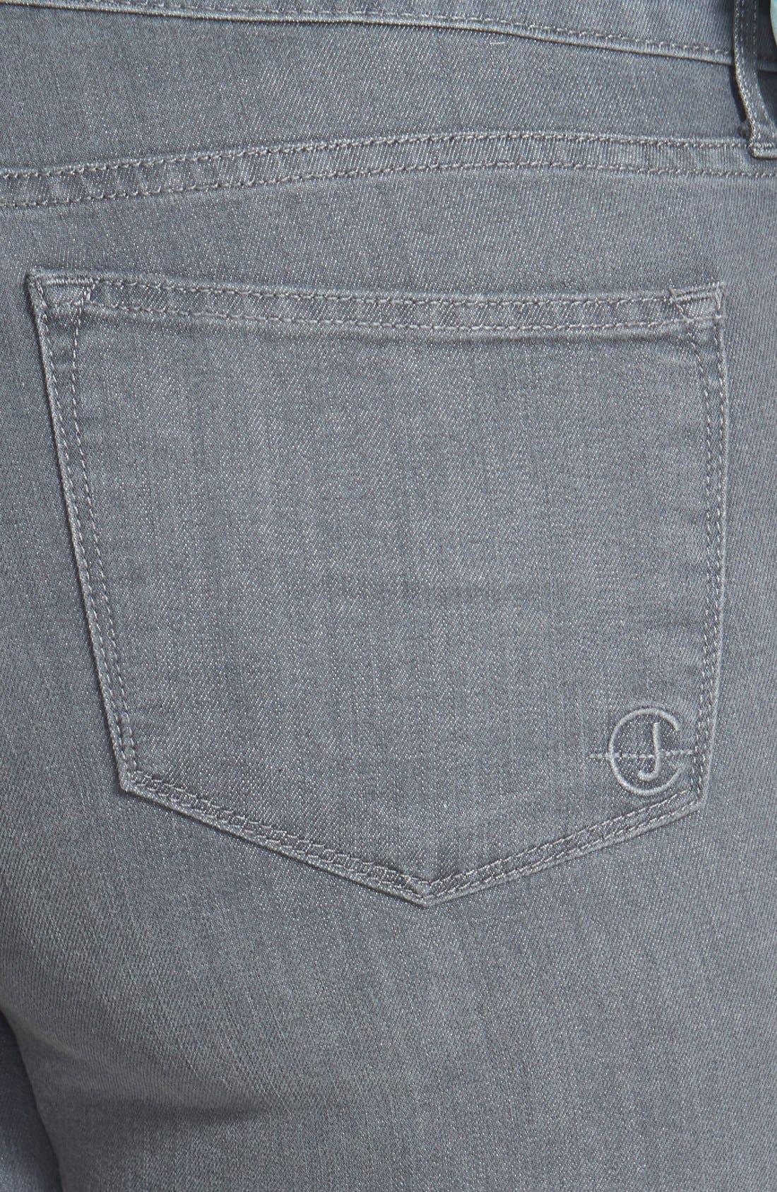 Alternate Image 3  - CJ by Cookie Johnson 'Faith' Stretch Straight Leg Jeans (Plus Size)