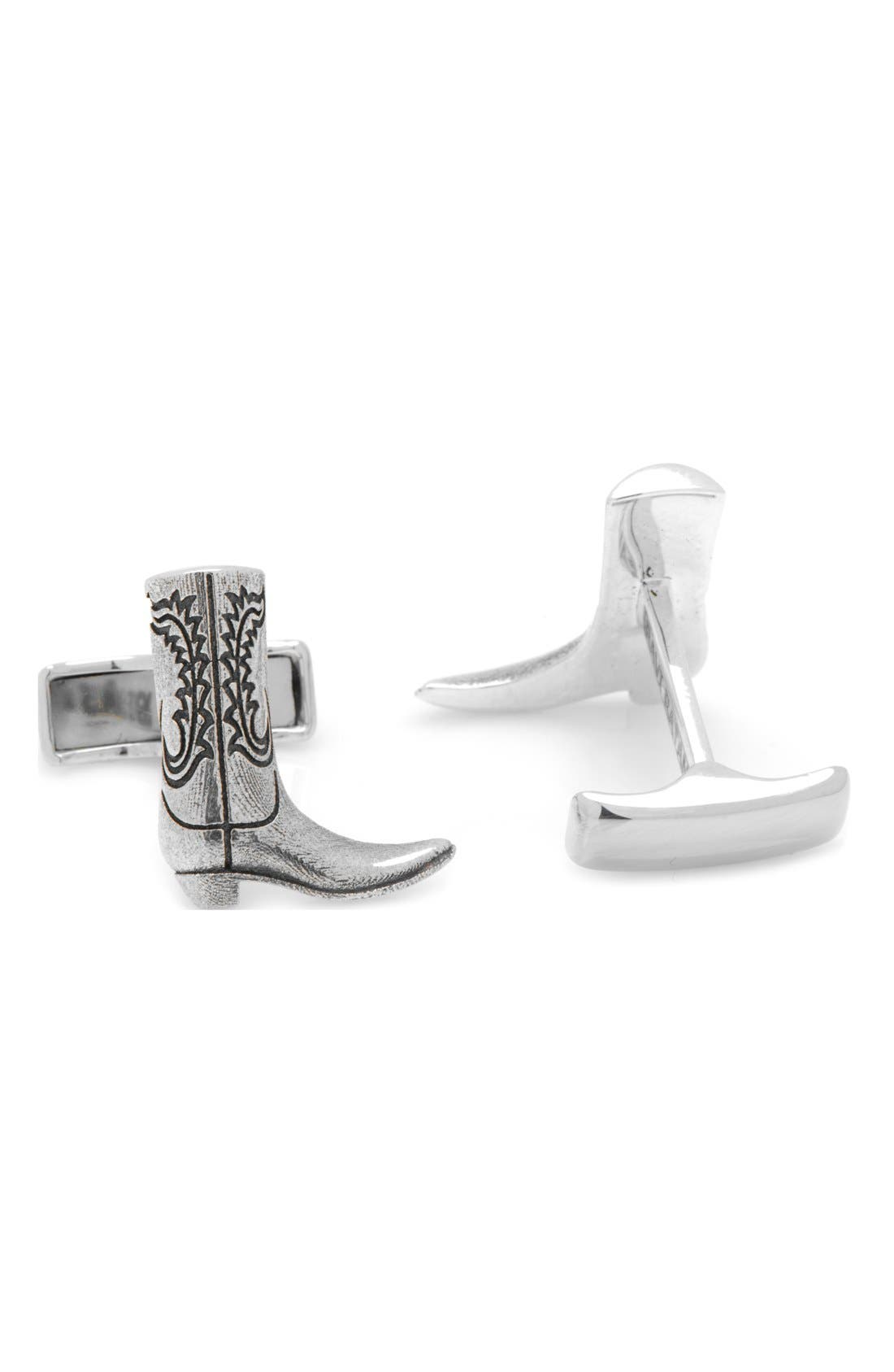 Ox and Bull Trading Co. 'Boot' Cuff Links