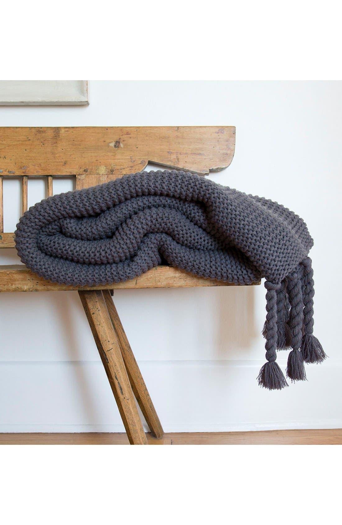 Alternate Image 2  - Pom Pom At Home Trestles Oversize Throw Blanket