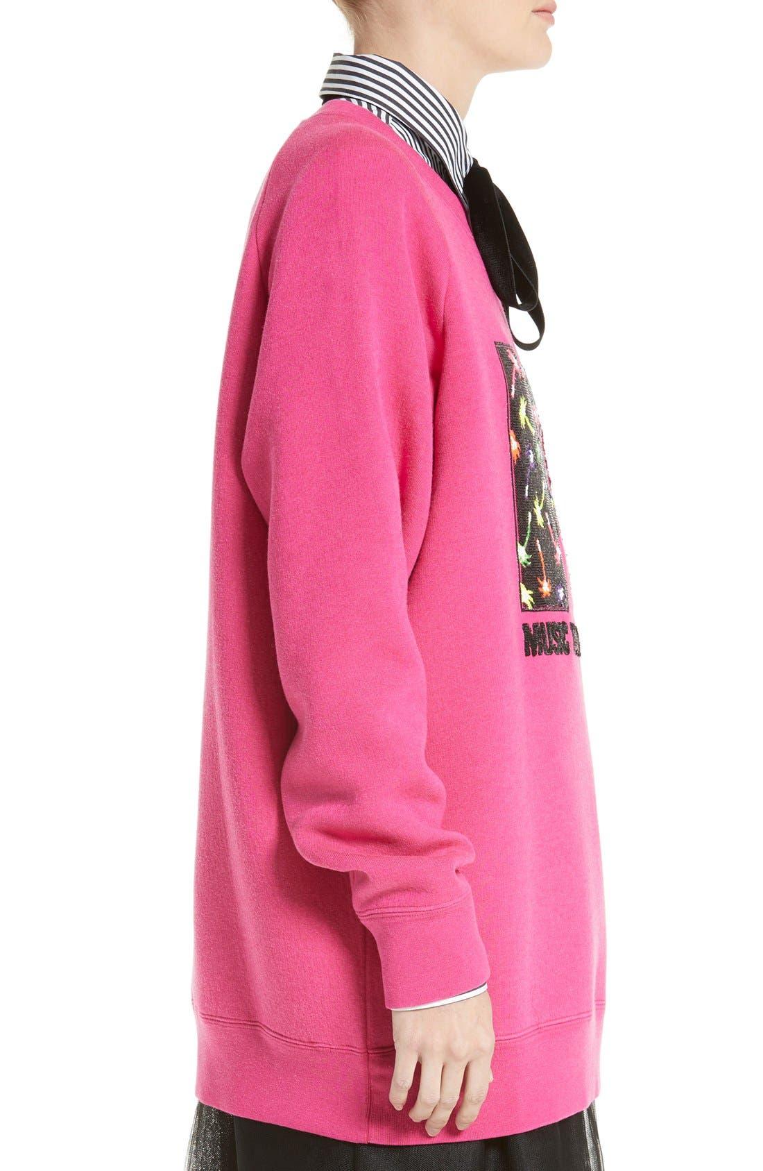 Alternate Image 5  - MARC JACOBS x MTV Logo Sweatshirt