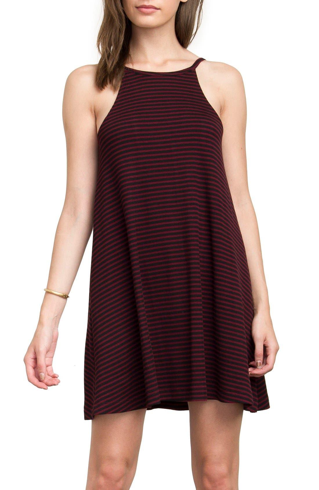 Alternate Image 1 Selected - RVCA Shellox Stripe Dress