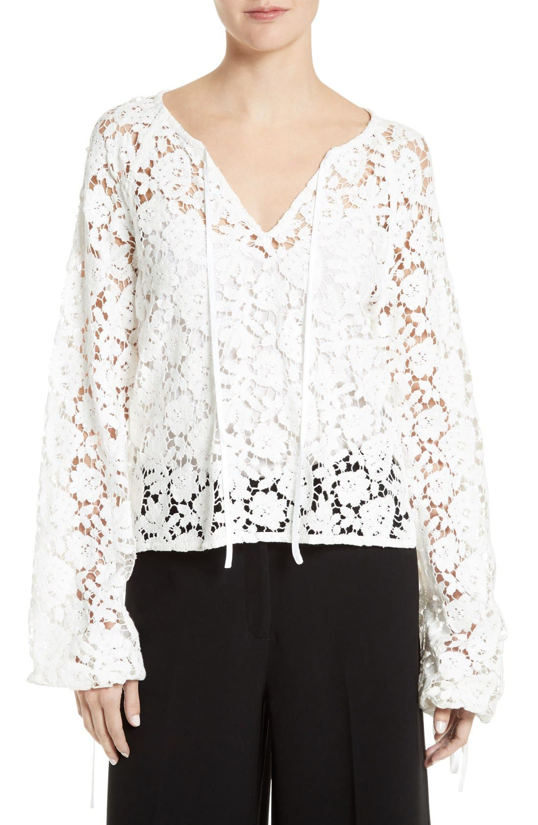 Elizabeth and James Chantalle Lace Top