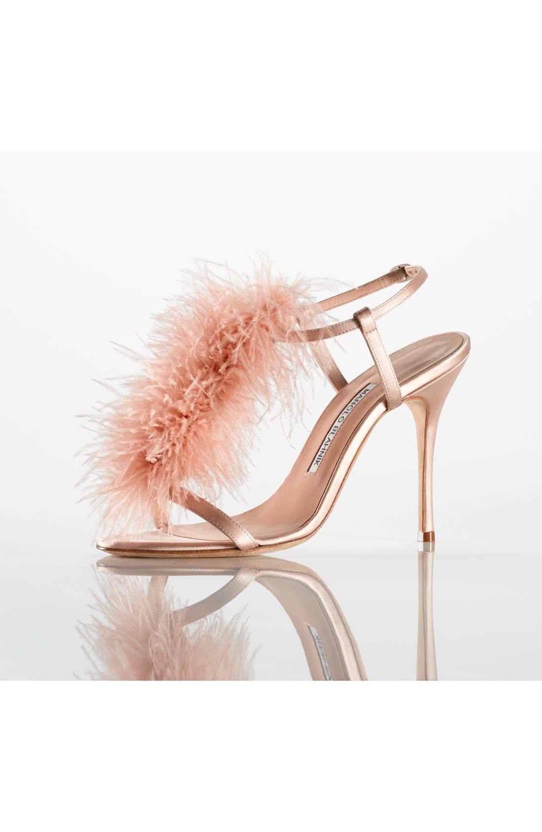 Alternate Image 5  - Manolo Blahnik Eila T-Strap Sandal (Women)