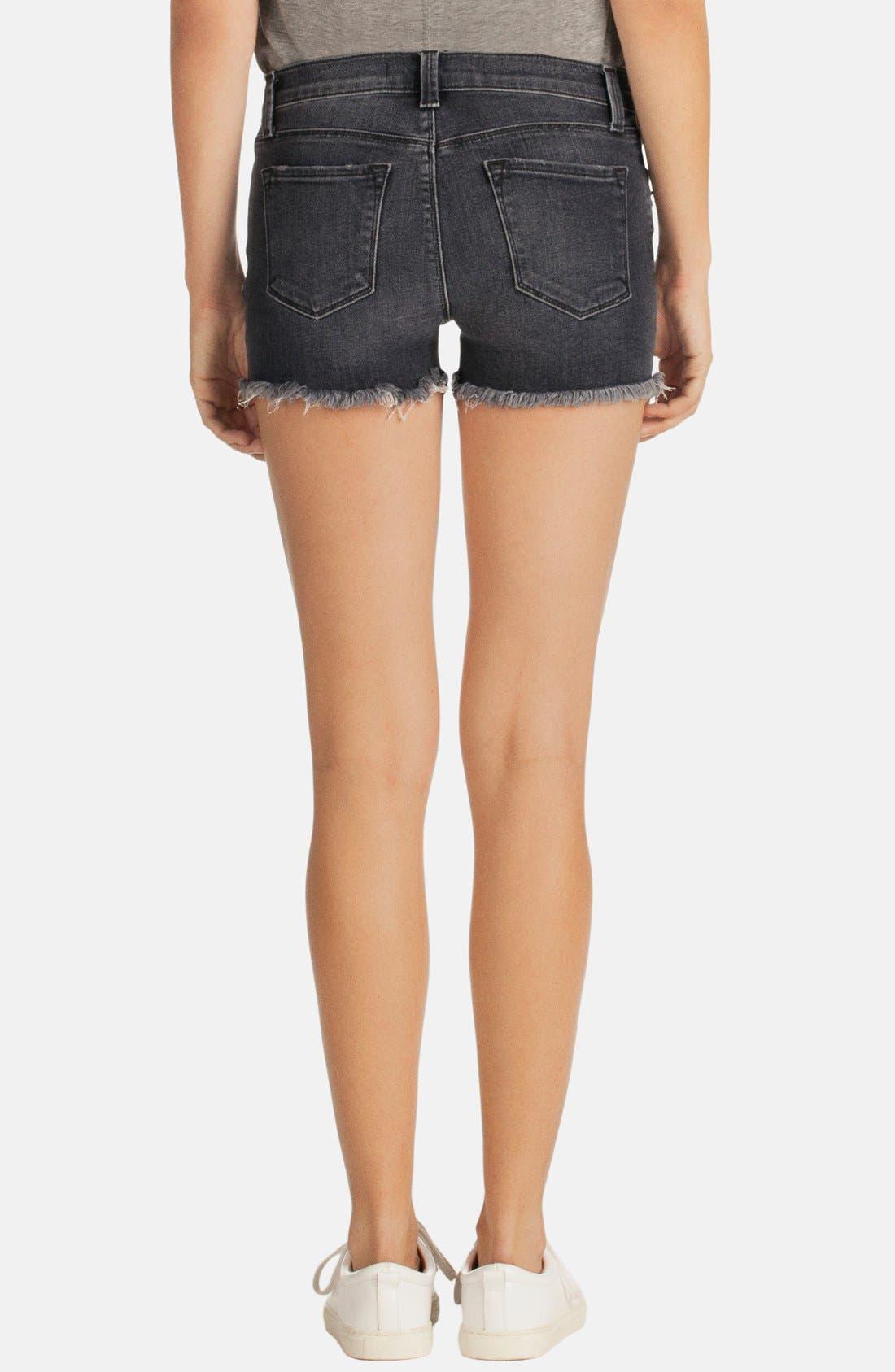 Alternate Image 2  - J Brand 'Mia' Denim Cutoff Shorts (Vagabond)