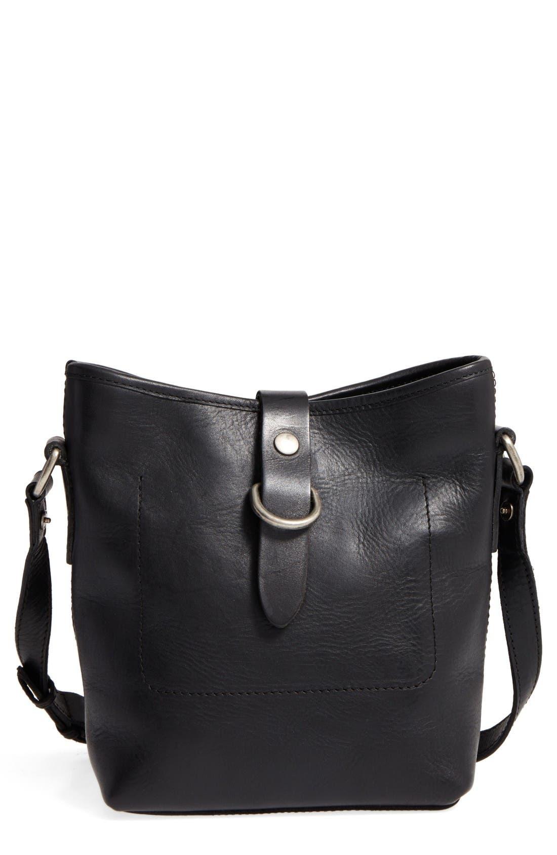Alternate Image 1 Selected - Frye Amy Leather Crossbody Bag