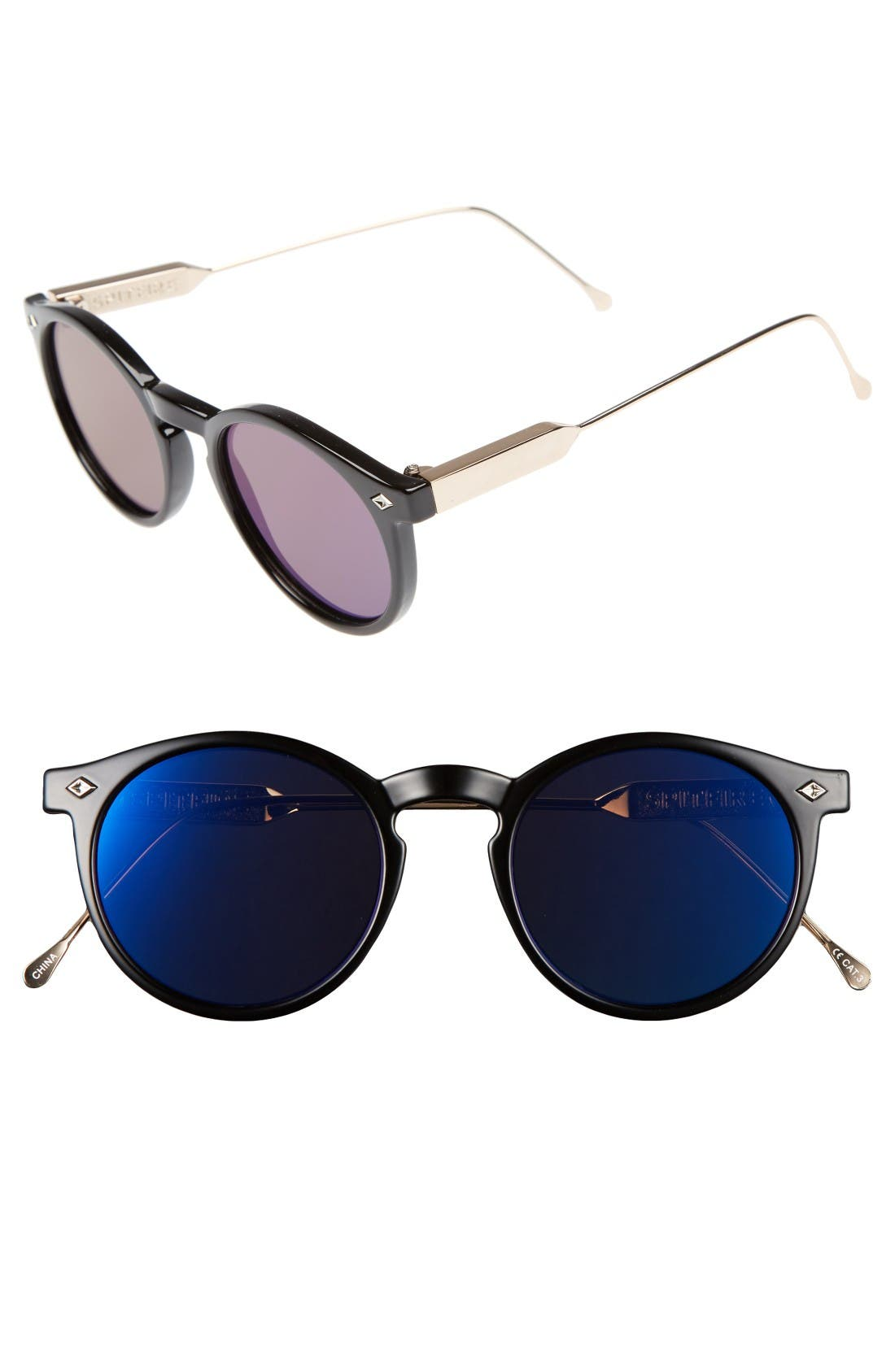 Spitfire Flex Round Sunglasses