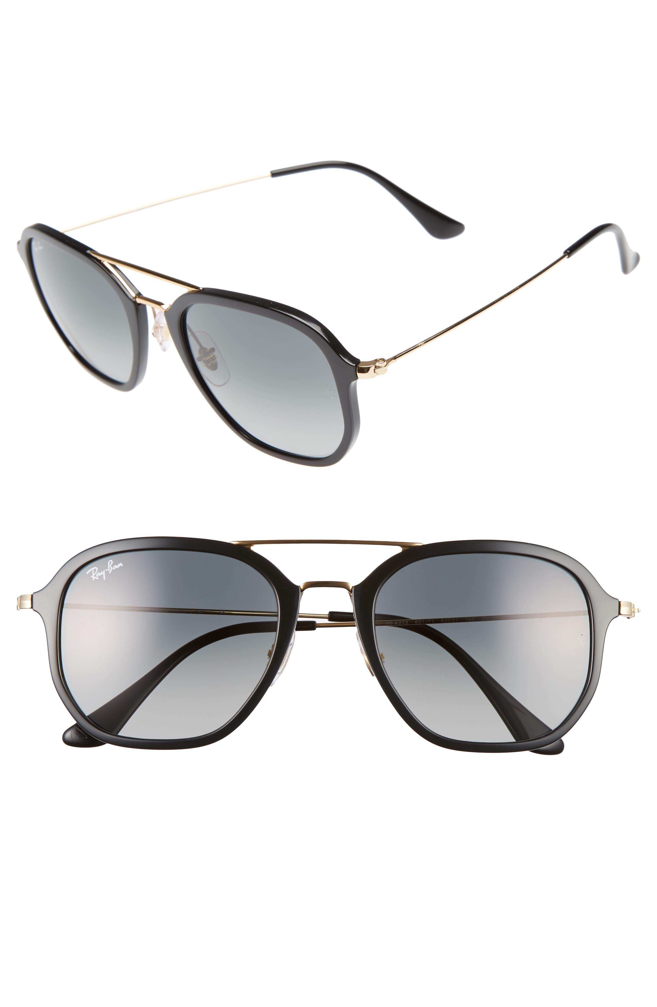 Main Image - Ray-Ban 52mm Square Sunglasses