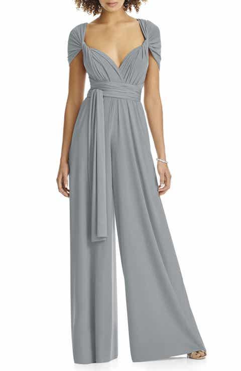 Grey Formal Dresses: One-Shoulder, Draped & Lace | Nordstrom