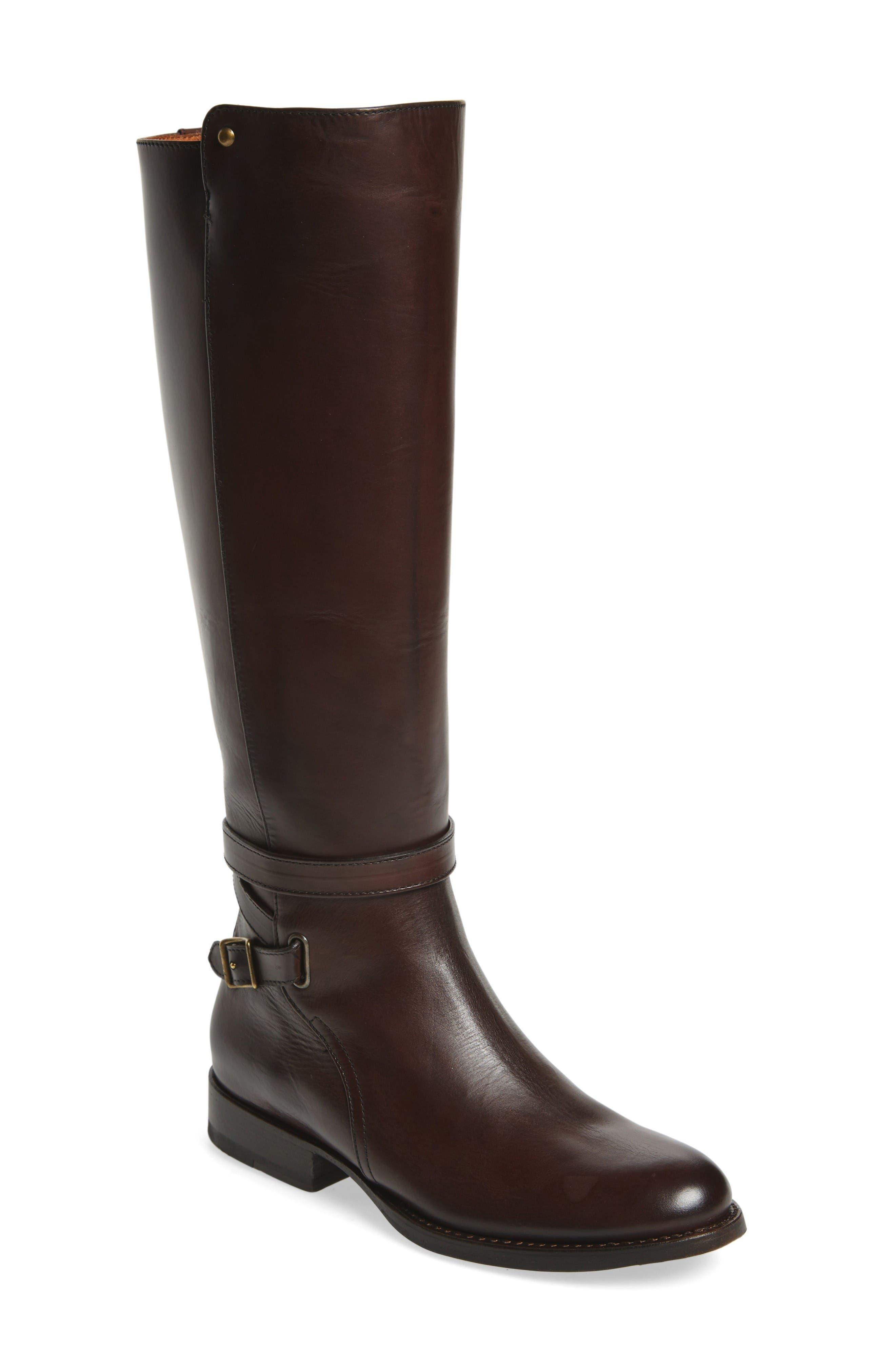 Alternate Image 1 Selected - Frye Jordan Buckle Strap Knee High Boot (Women)