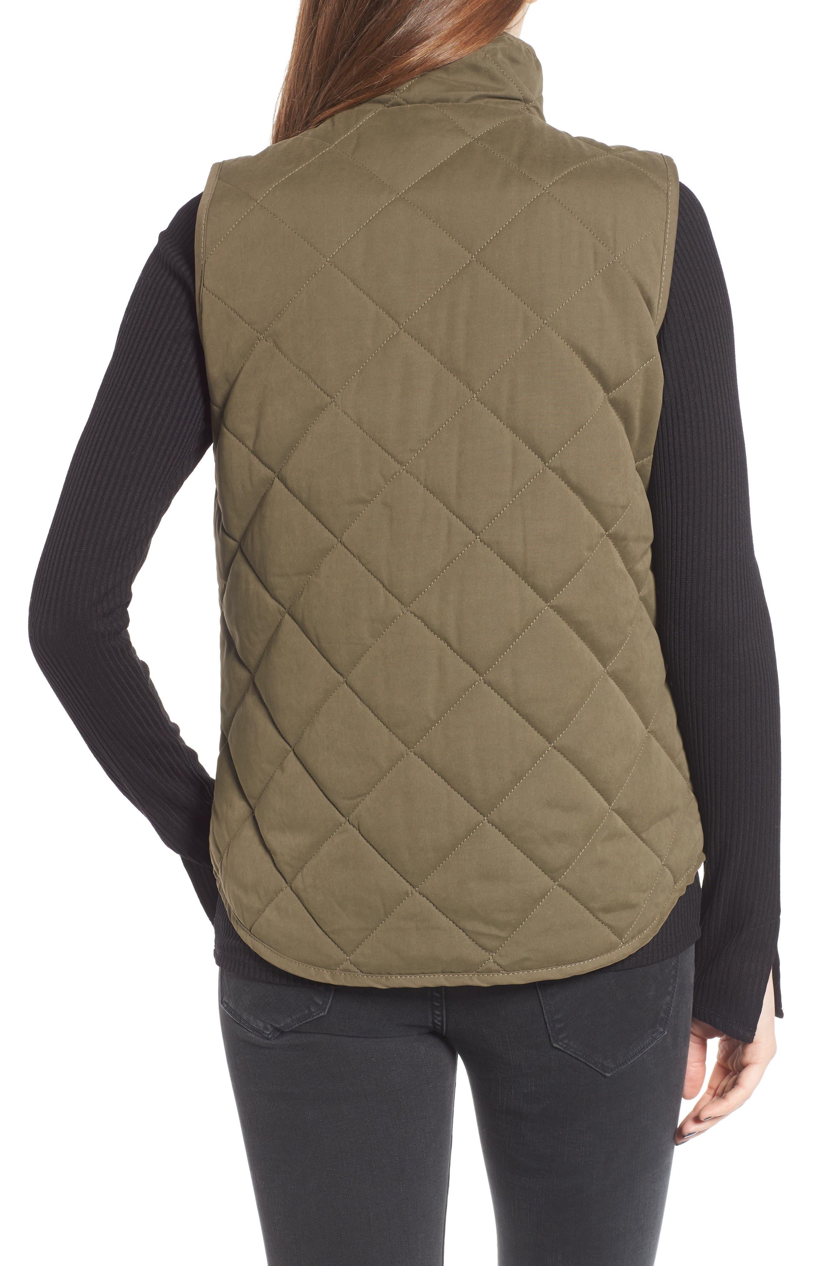 Alternate Image 2  - Thread & Supply Lancaster Quilted Vest