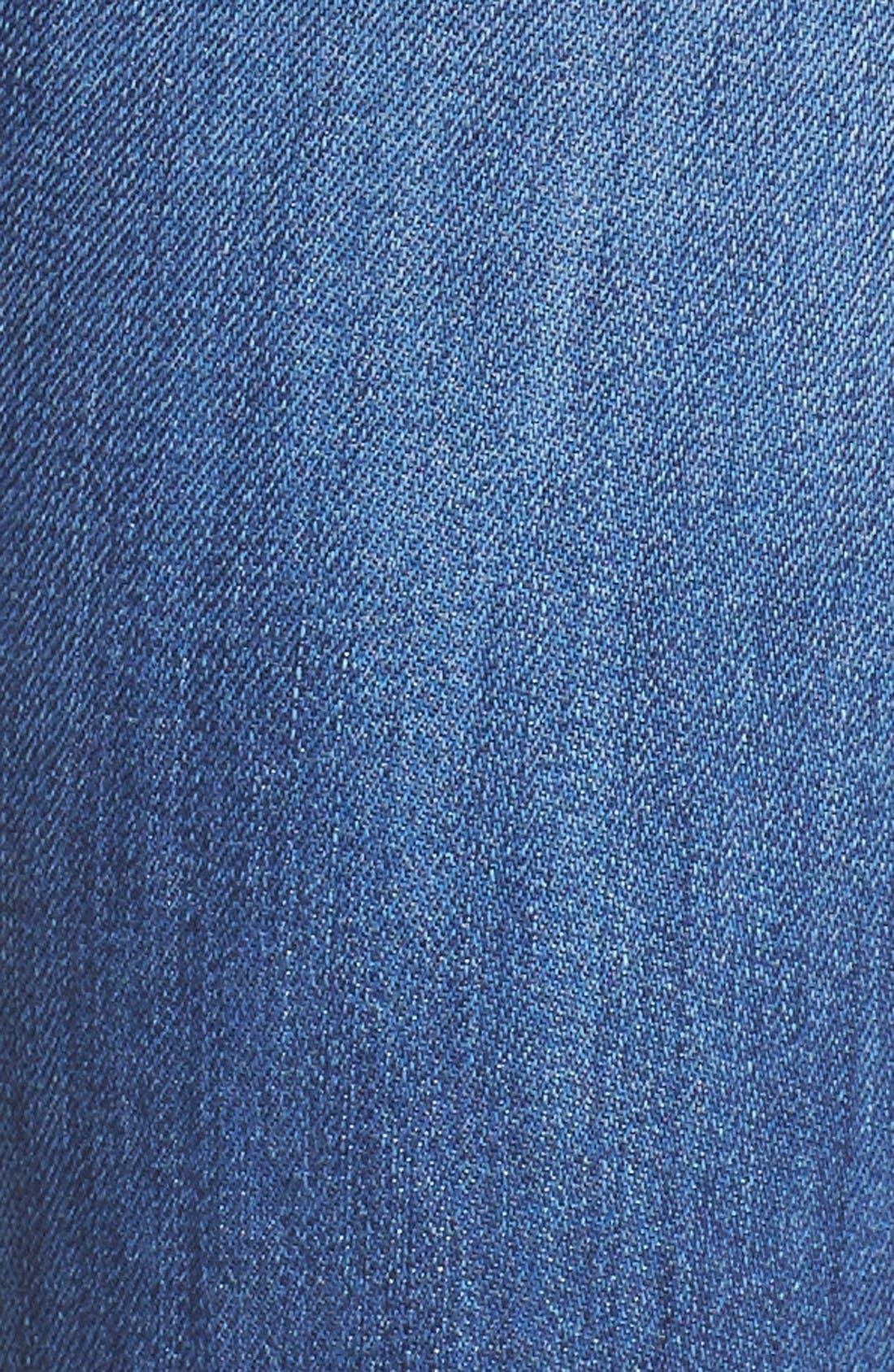 Alternate Image 5  - Hudson Tally Crop Skinny Jeans (Encounter)