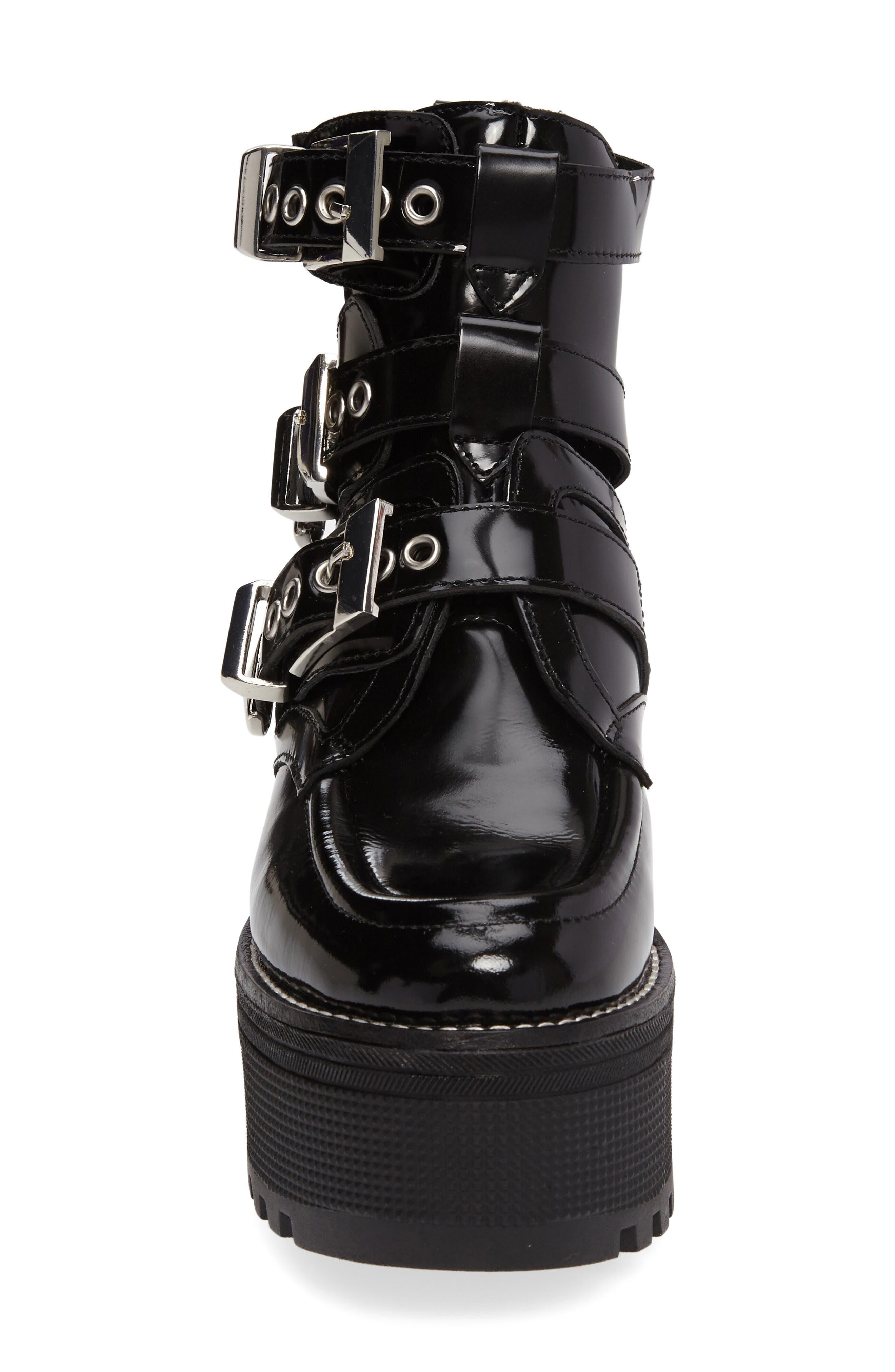 Alternate Image 3  - Jeffrey Campbell Mingus Buckle Strap Platform Bootie (Women)