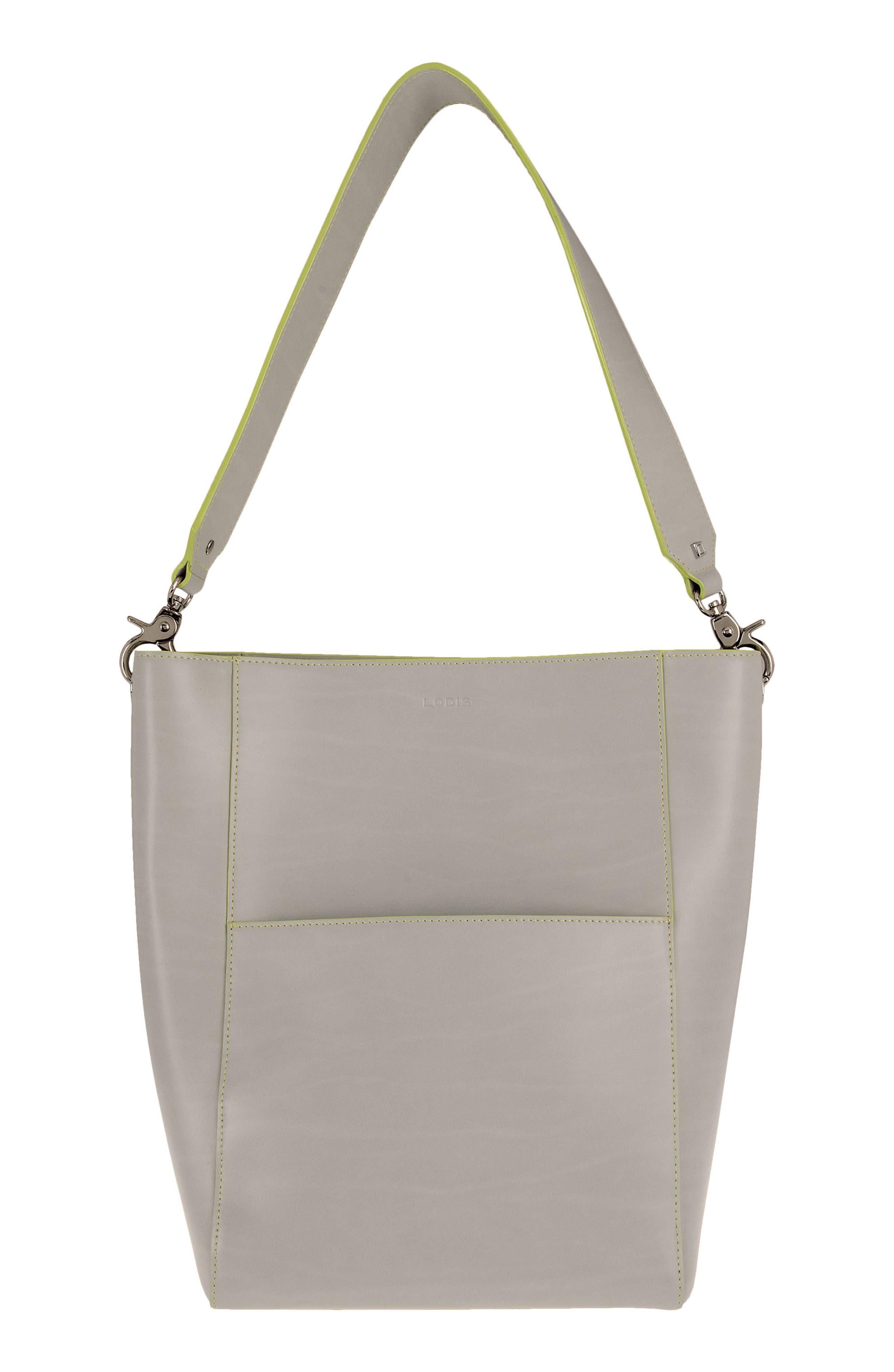LODIS Berta Leather Bucket Bag