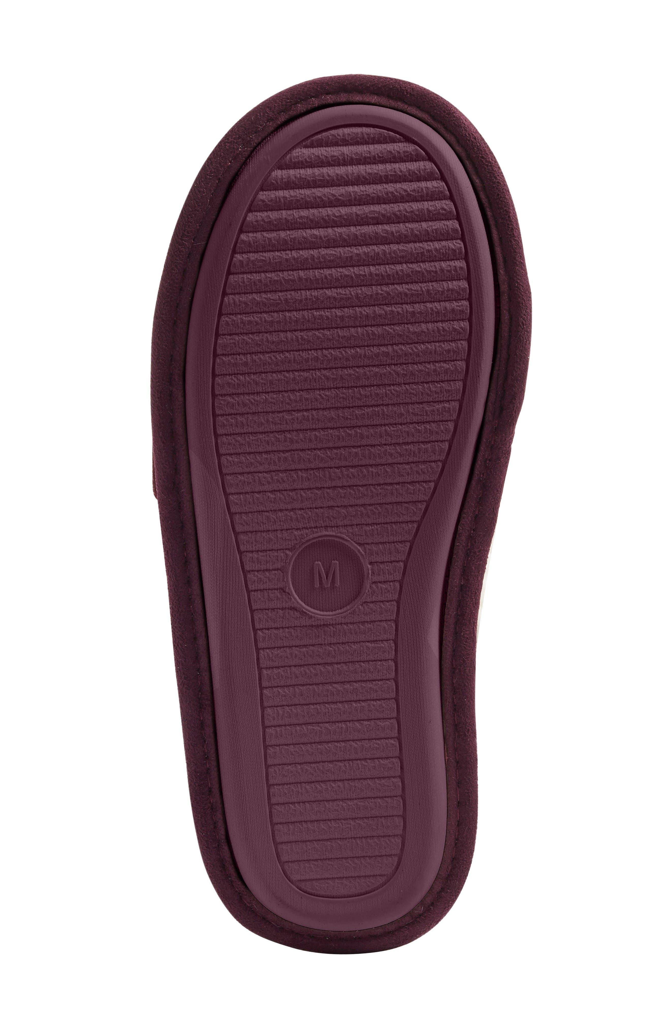 Alternate Image 4  - Nordstrom Plush Scuff Slipper (Women)