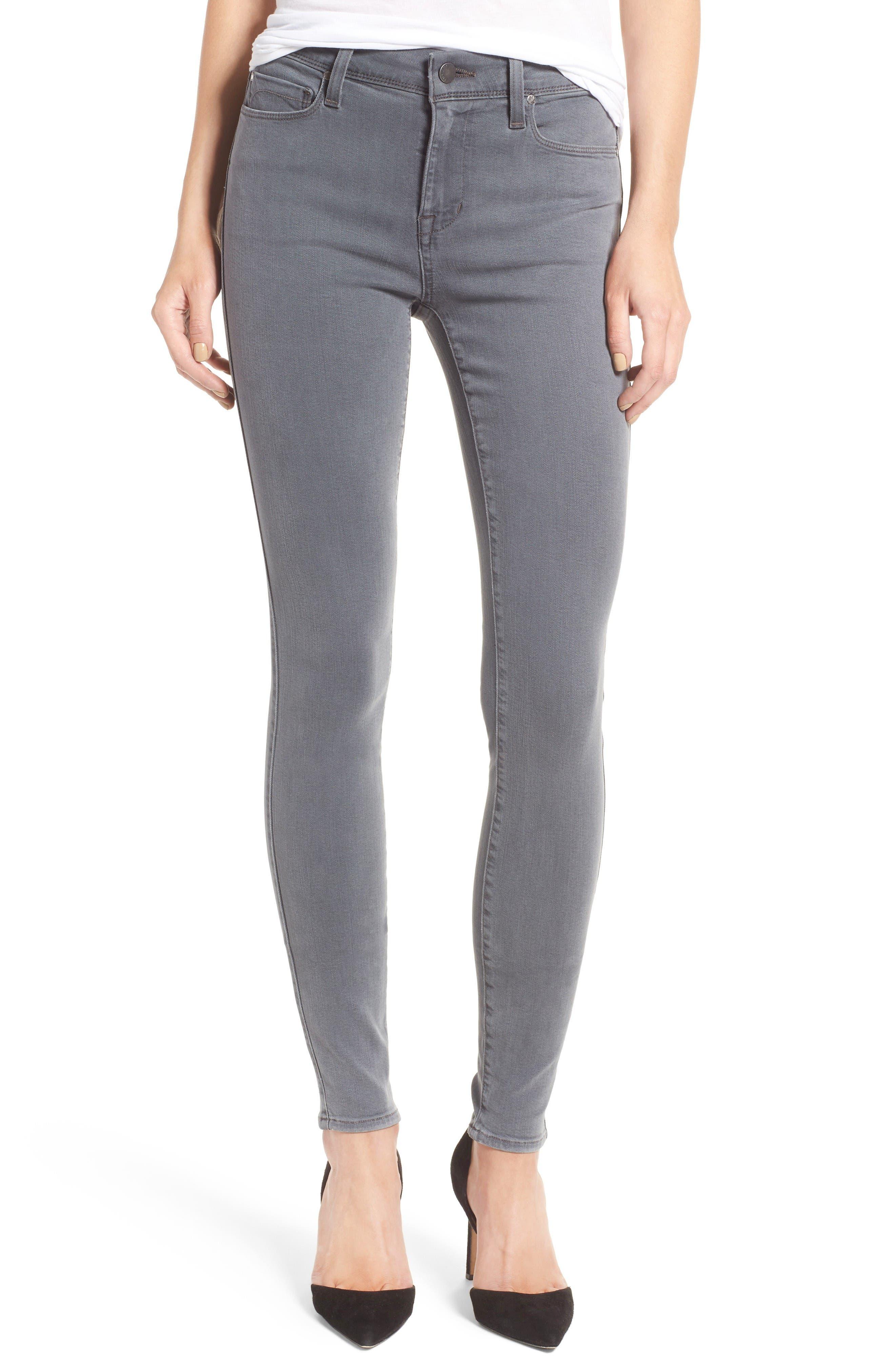 Fidelity Denim Sola Ankle Skinny Jeans (Dust)