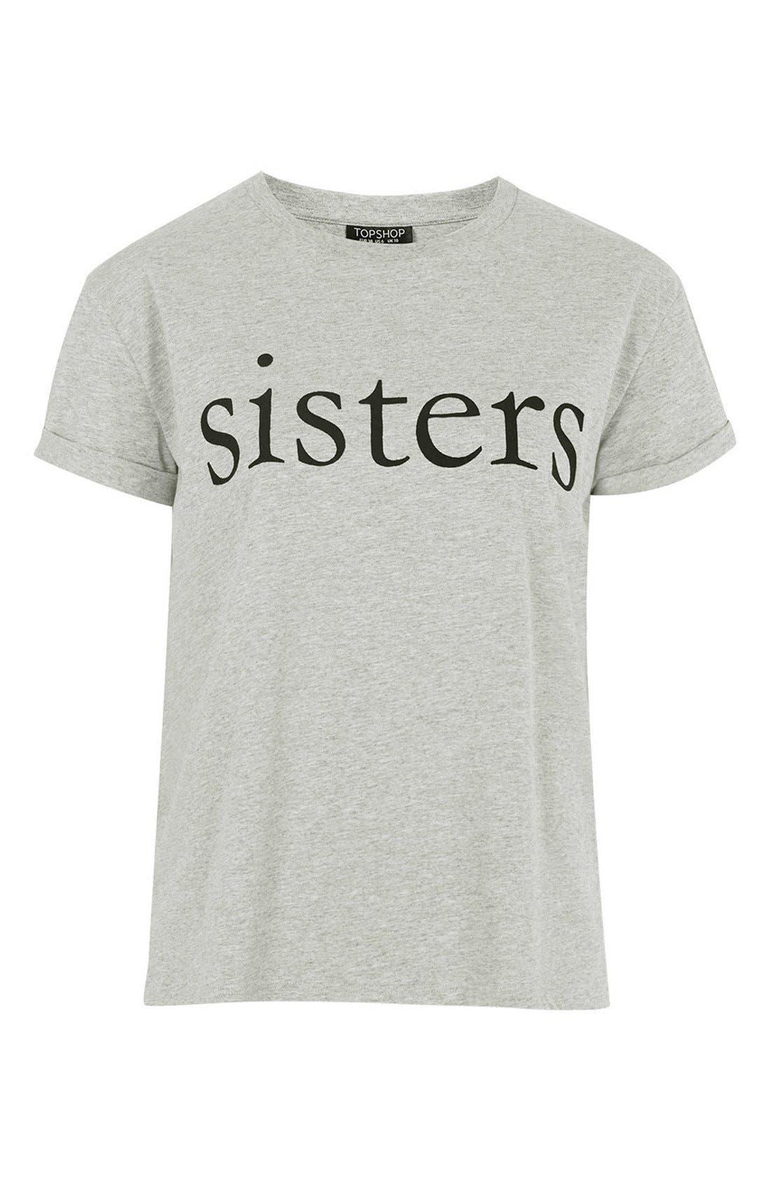 Alternate Image 5  - Topshop Sisters Pajama Tee
