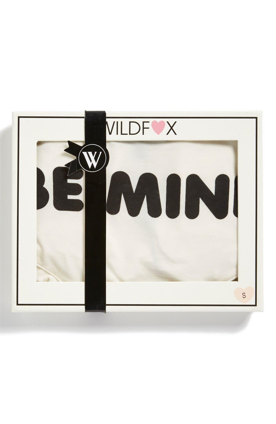 Alternate Image 2  - Wildfox 'Be Mine' Camisole Pajamas