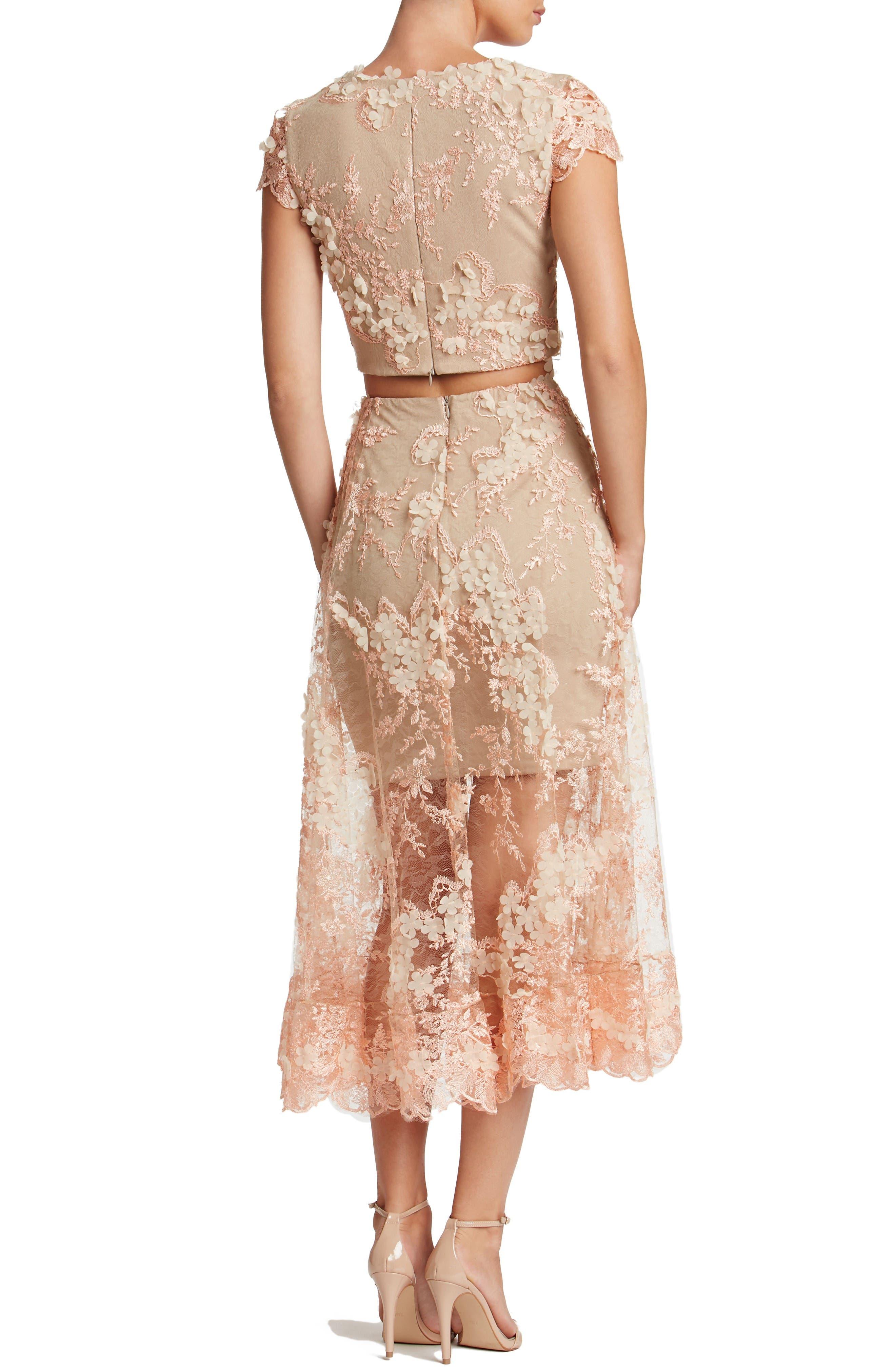Alternate Image 3  - Dress the Population Juliana Two-Piece Dress