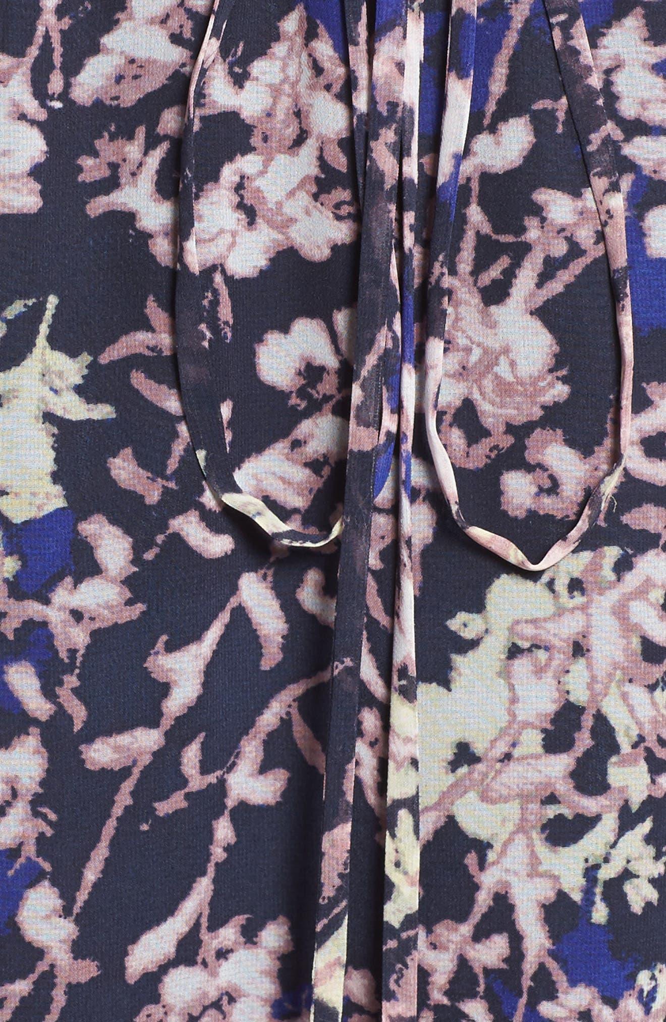 Alternate Image 6  - Likely Ibiza Floral Norfolk Dress