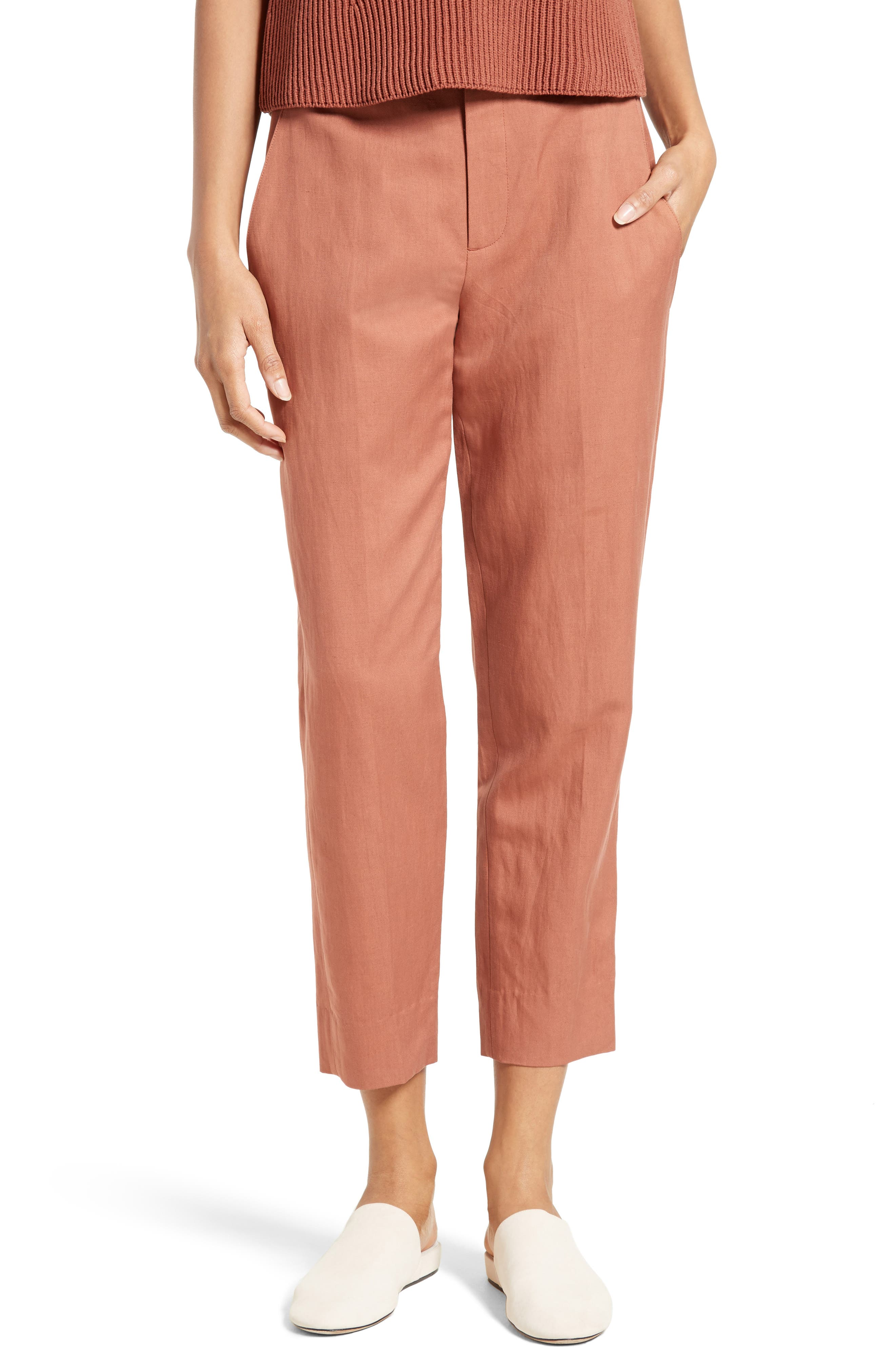 Alternate Image 1 Selected - Vince Carrot Tapered Leg Ankle Pants
