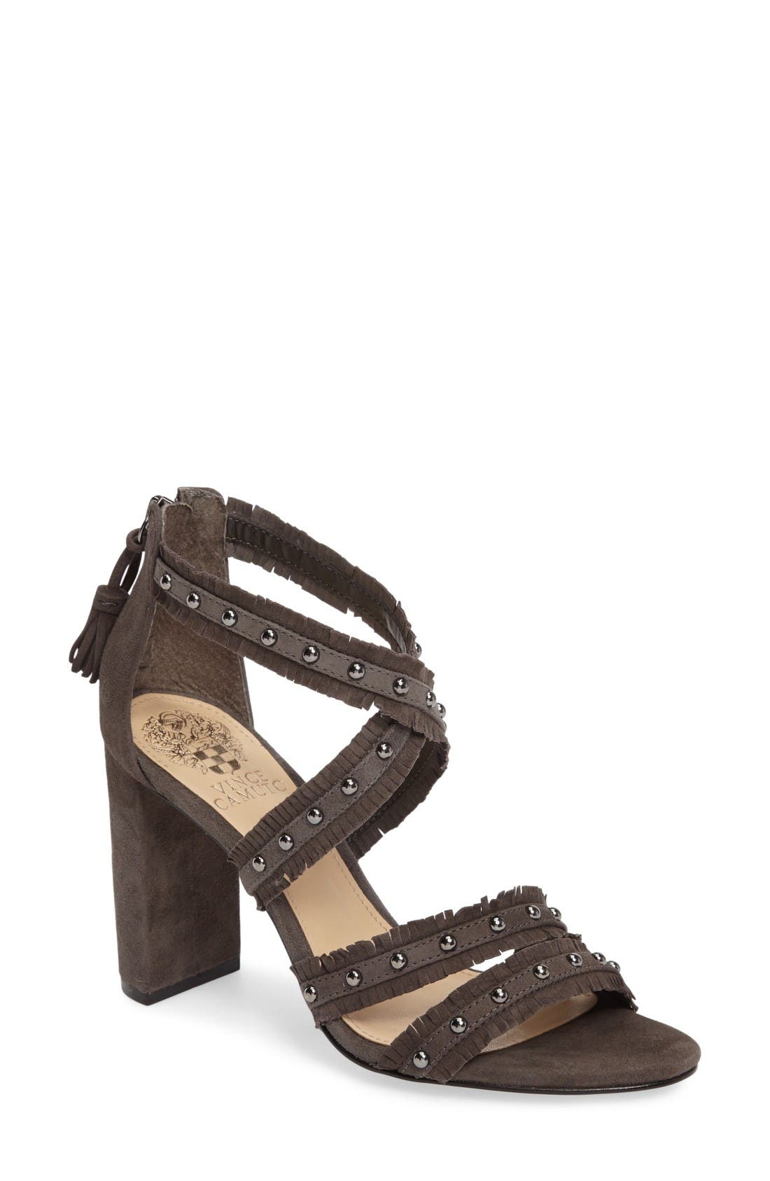 Alternate Image 1 Selected - Vince Camuto Machila Block Heel Sandal (Women)
