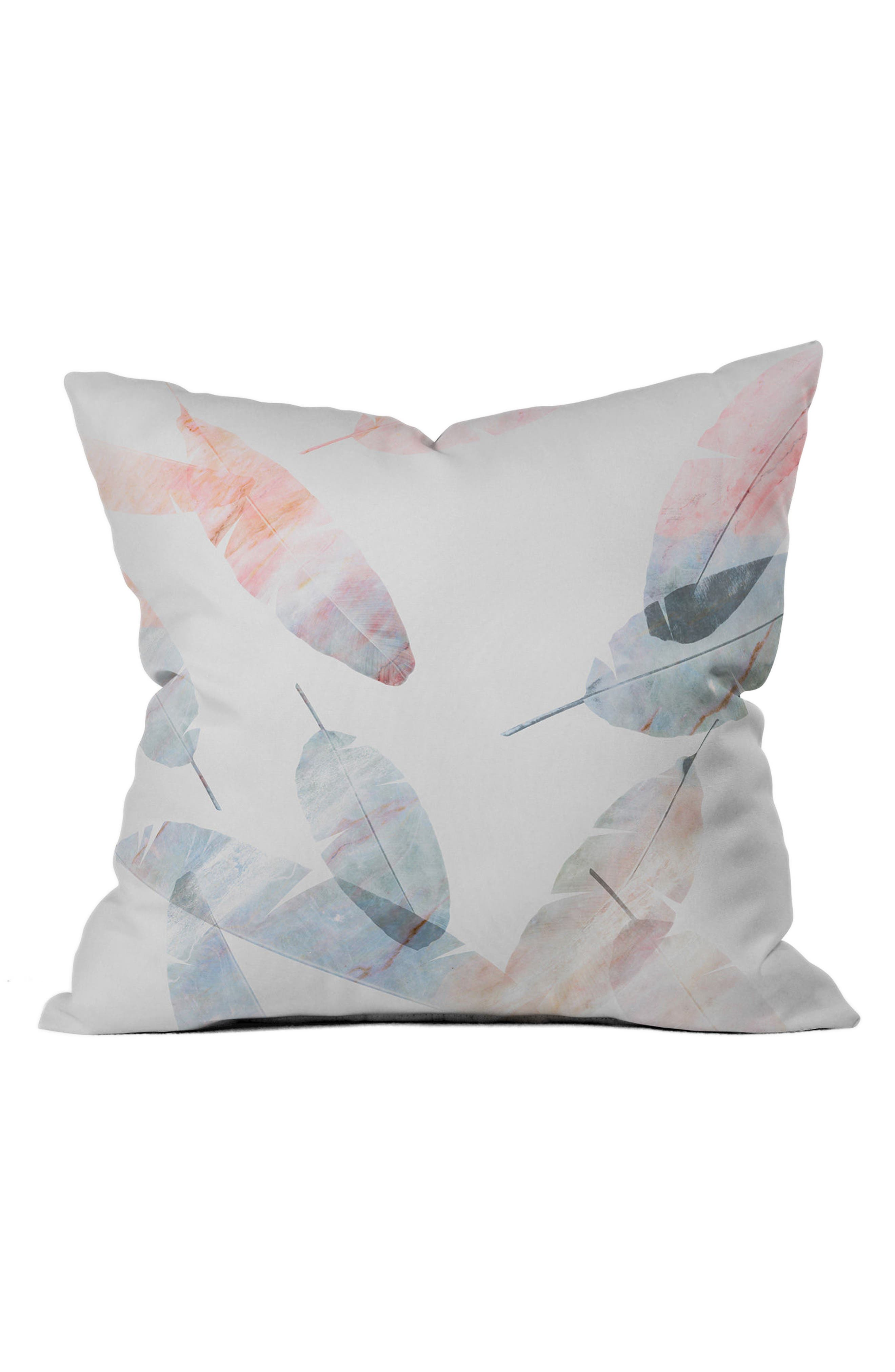 Alternate Image 1 Selected - DENY Designs Pastel Pillow