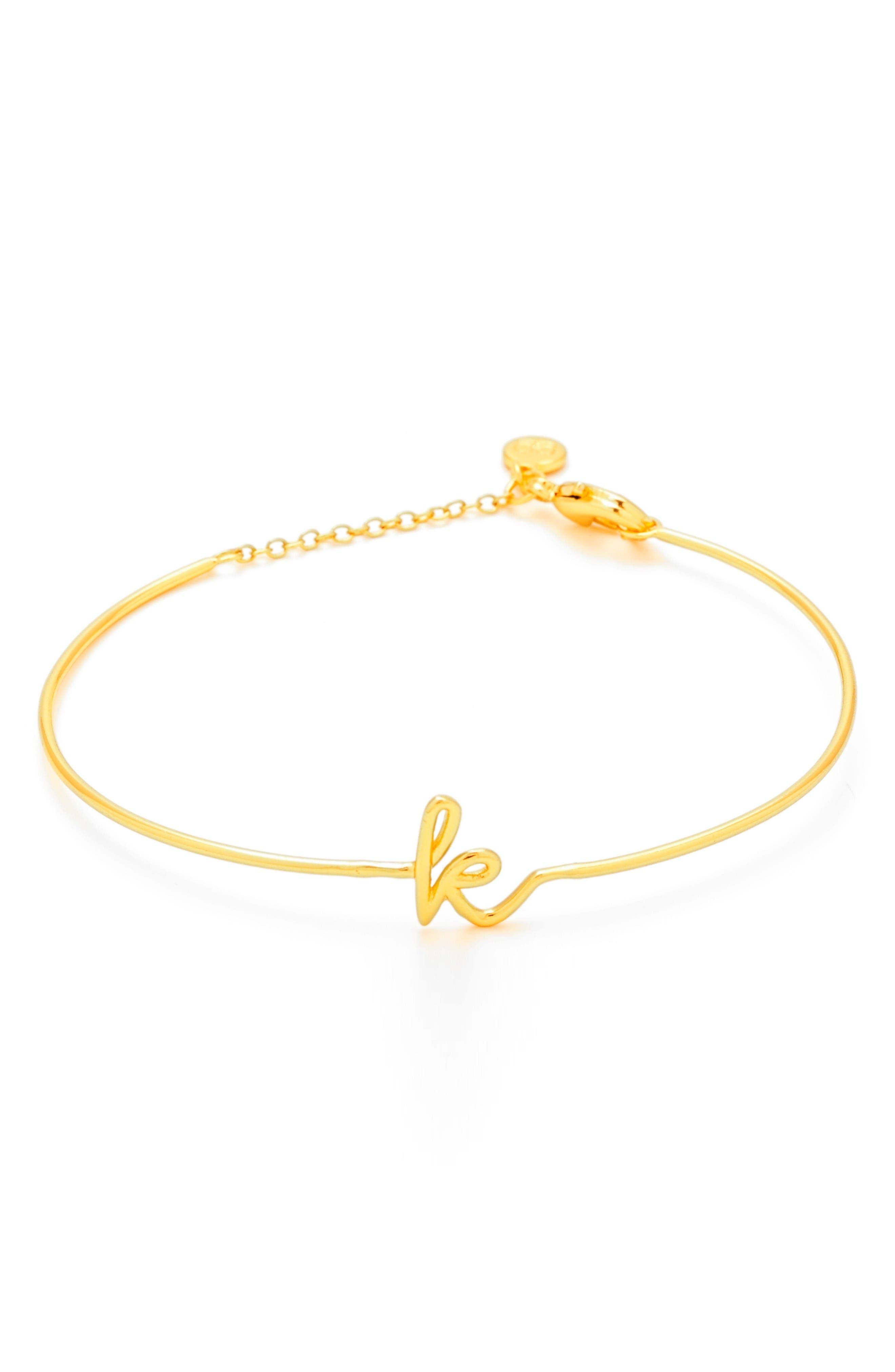 gorjana Alphabet Bracelet