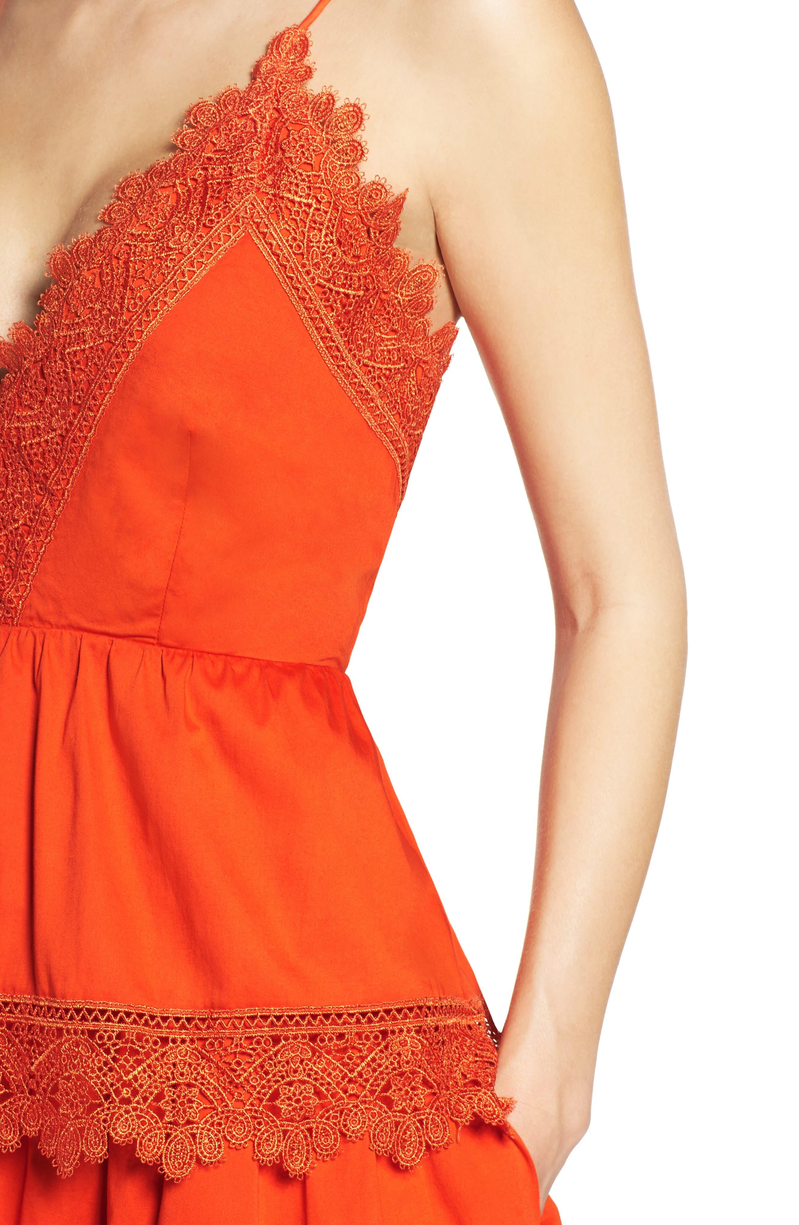 Alternate Image 6  - Bardot Sophia Peplum Dress