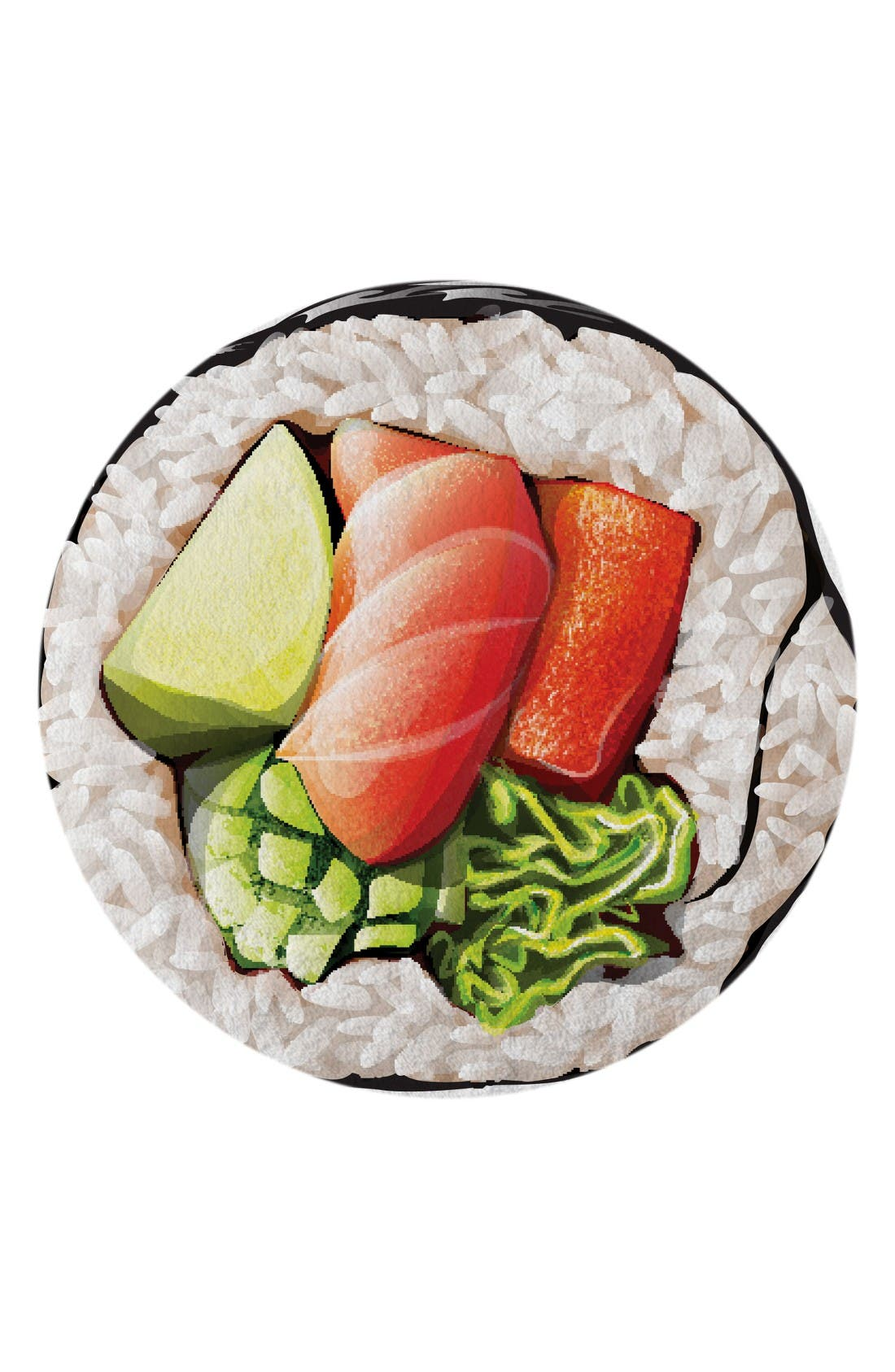 Alternate Image 1 Selected - Round Towel Co. The California Roll Round Towel