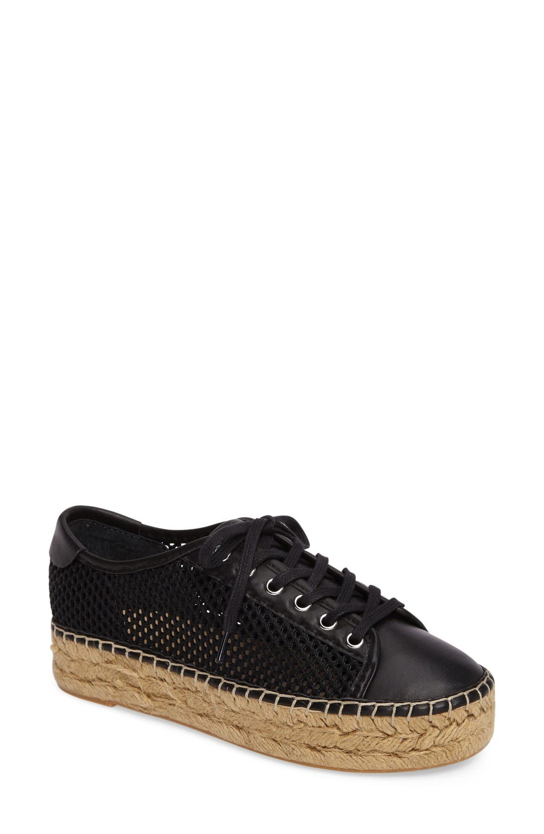 Marc Fisher LTD Macey Perforated Espadrille Platform Sneaker (Women)