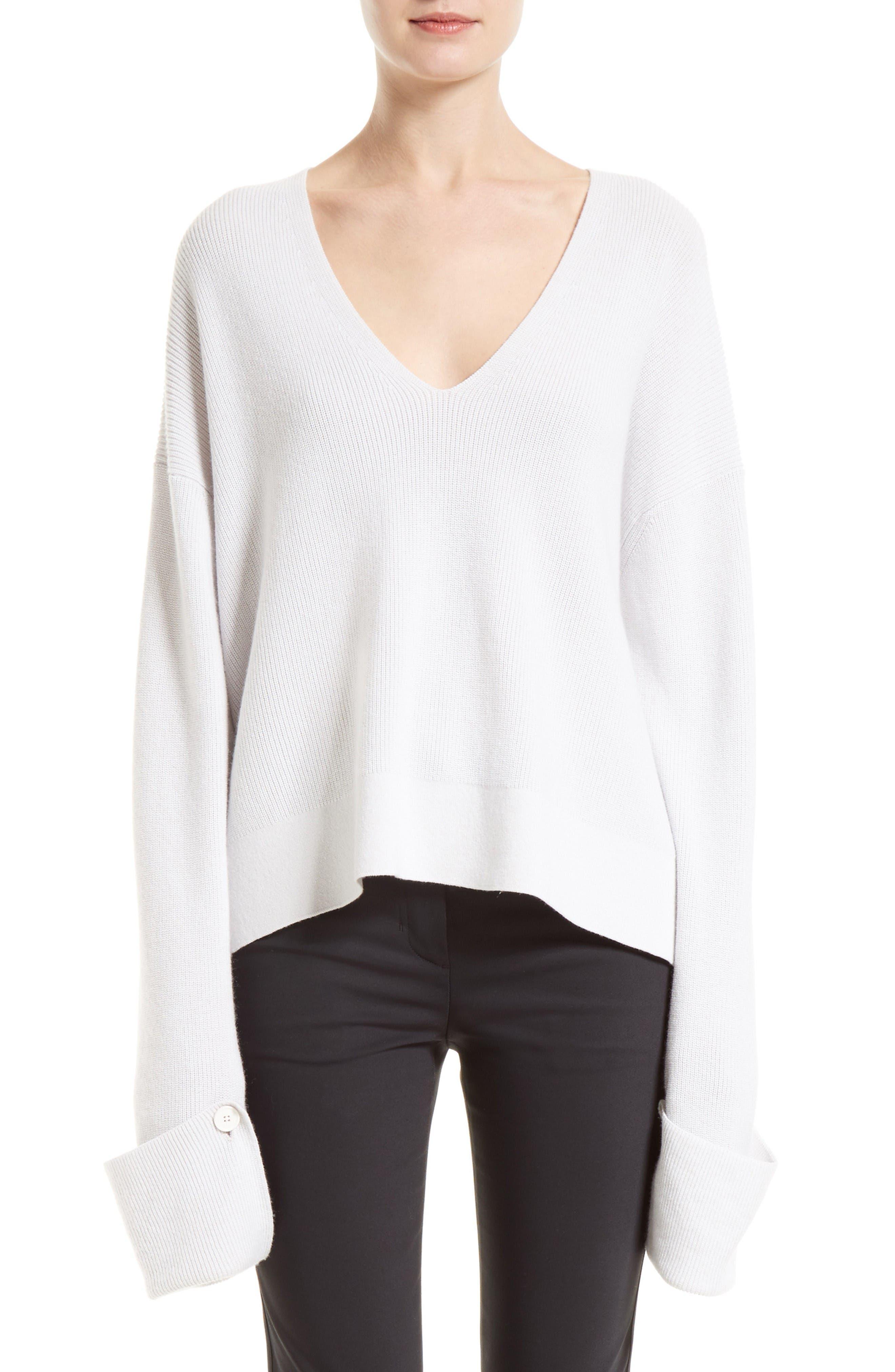 HELMUT LANG Cotton Blend Sweater