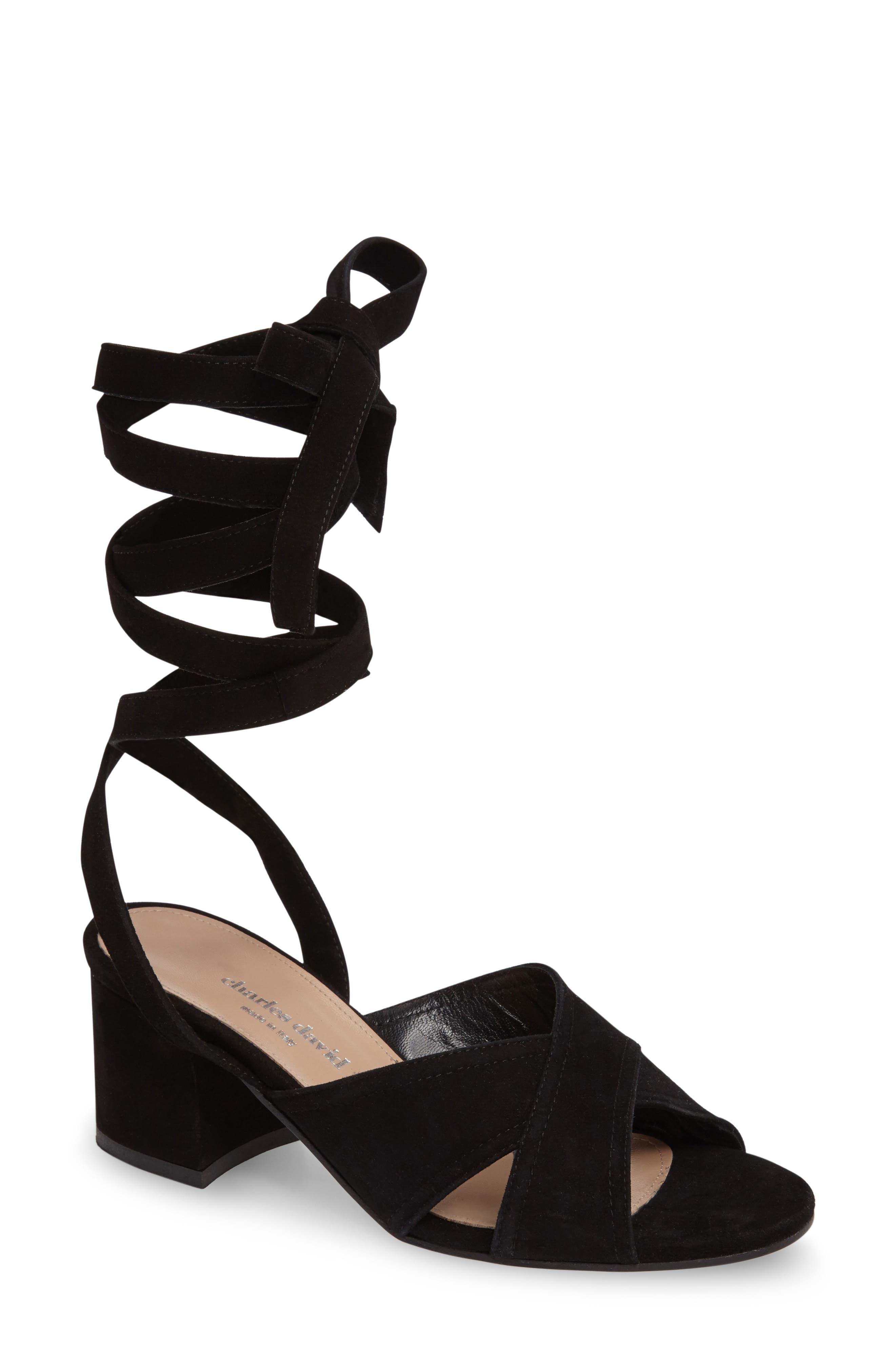 Charles David Blossom Wraparound Sandal (Women)