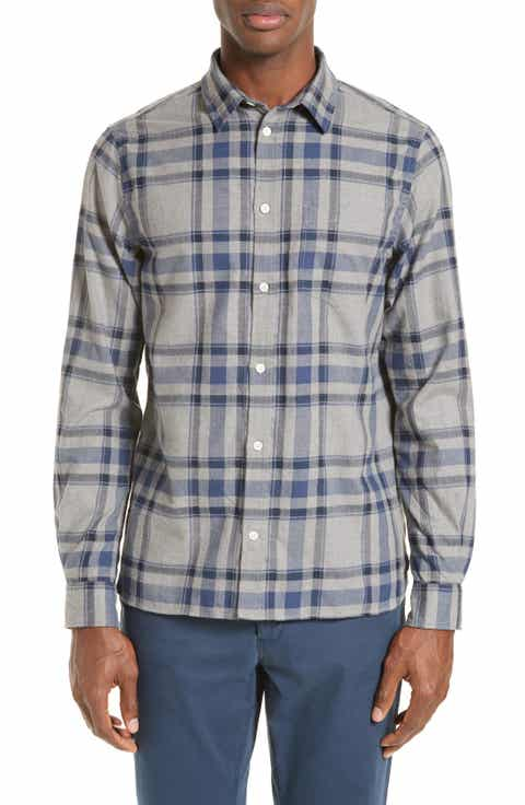 Norse Projects Hans Brushed Check Sport Shirt