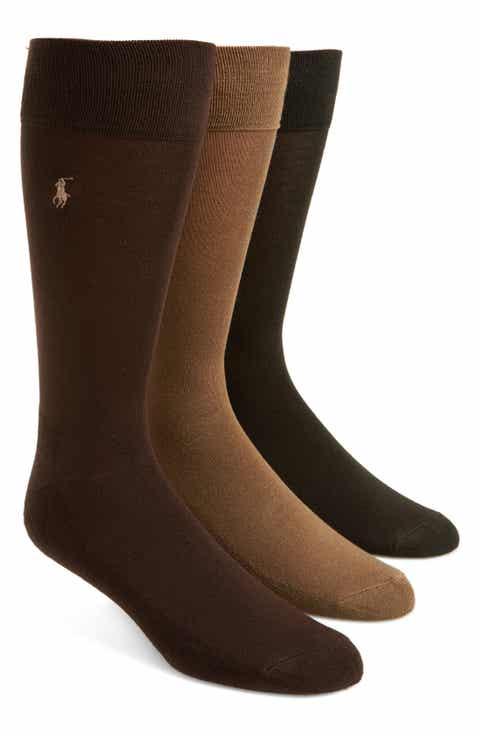 Polo Ralph Lauren Assorted 3-Pack Supersoft Socks