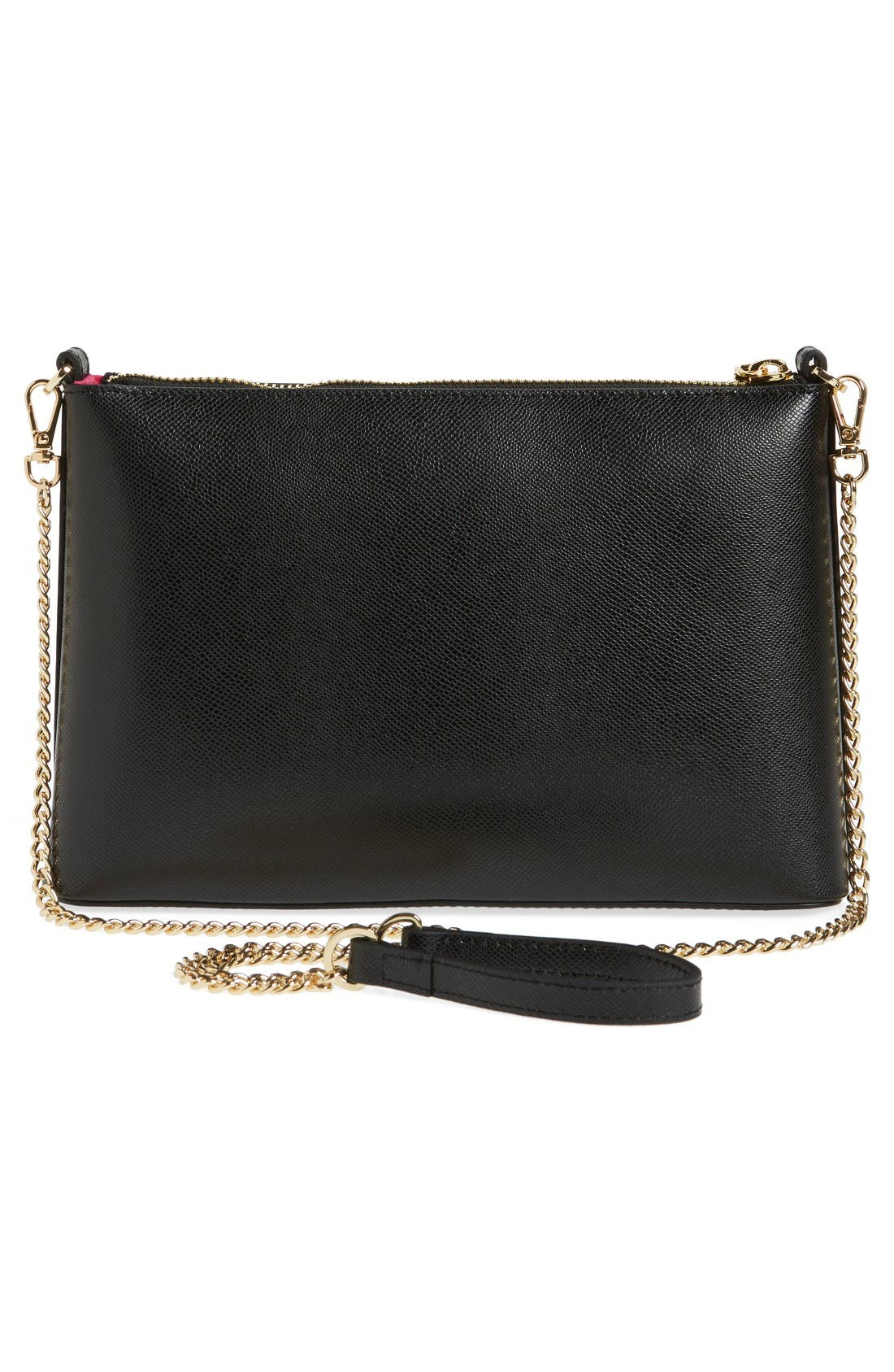 Alternate Image 3  - Ted Baker London Lost Gardens Leather Crossbody Bag