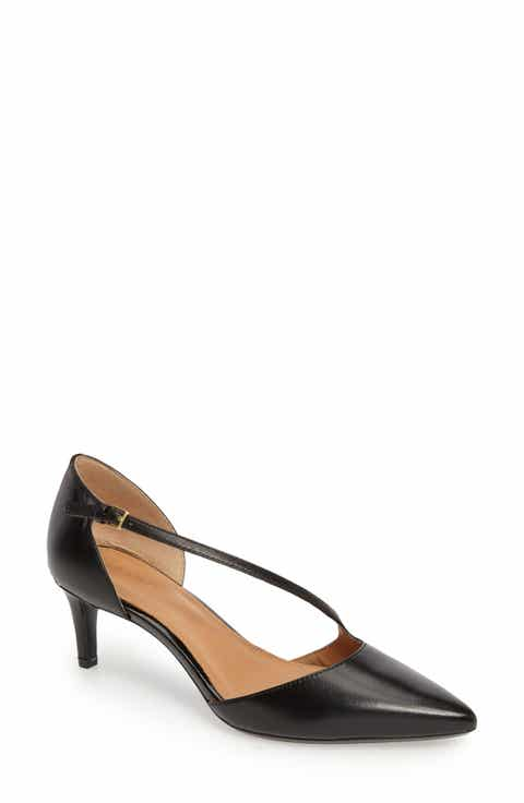Innovative Calvin Klein Raysana Womens Leather Flats Shoes