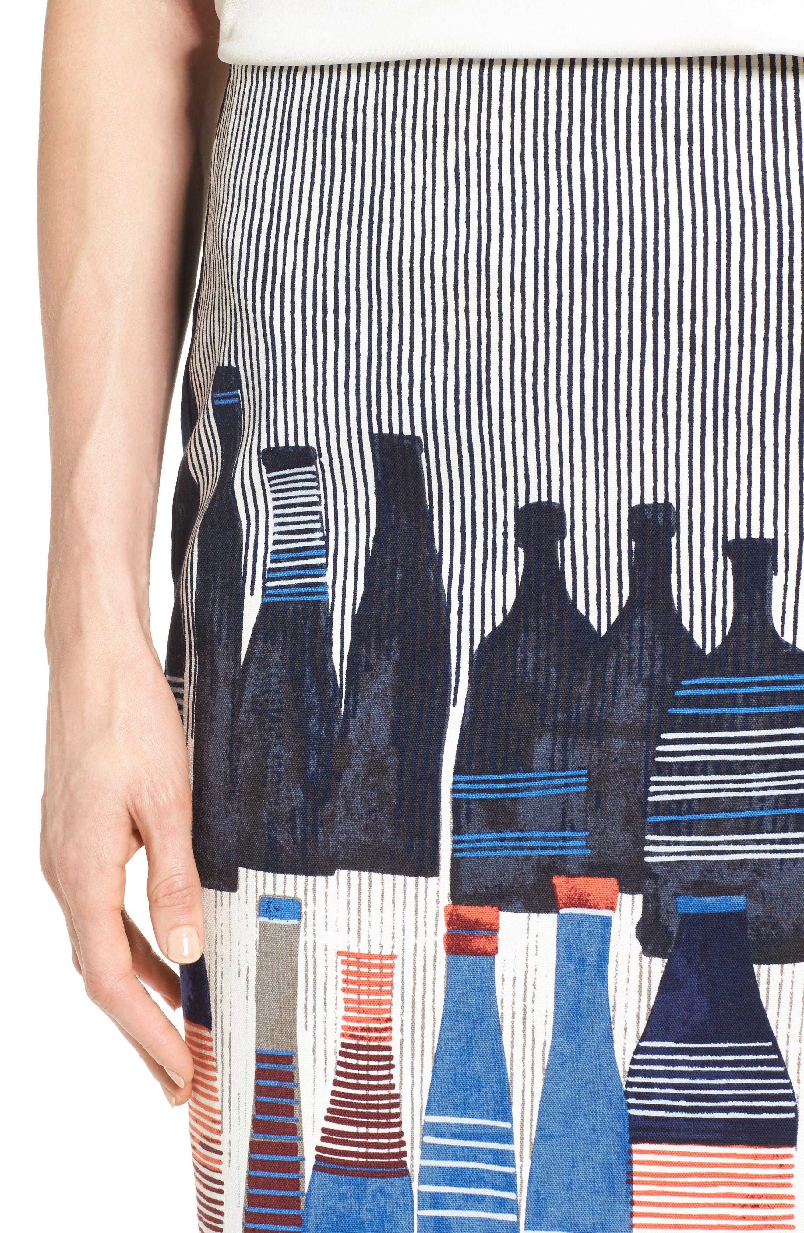 Alternate Image 5  - NIC+ZOE Spring Bottles Skirt (Regular & Petite)