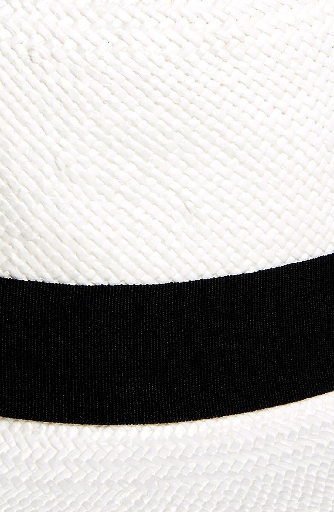 Alternate Image 2  - Halogen® Straw Panama Hat